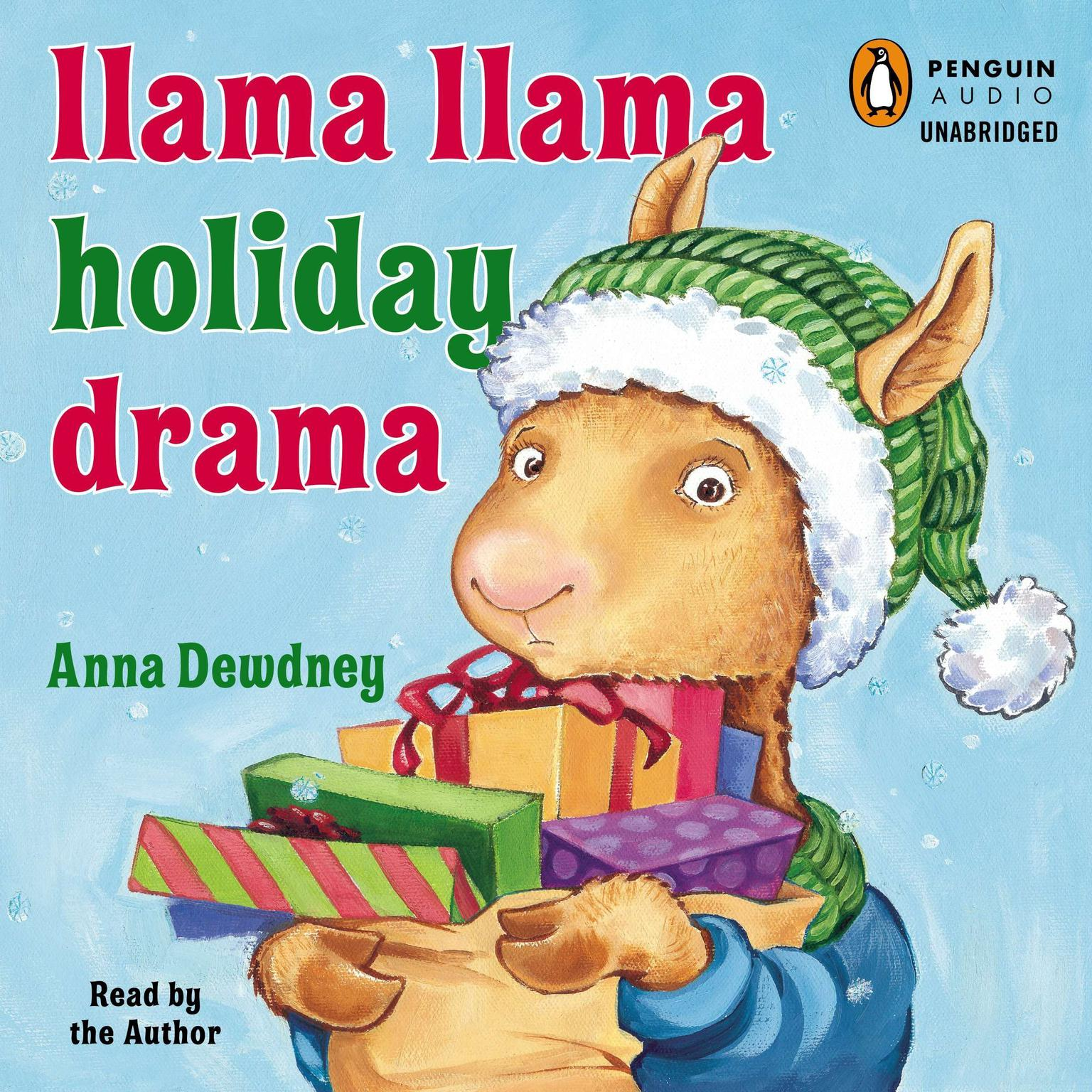 Printable Llama Llama Holiday Drama Audiobook Cover Art