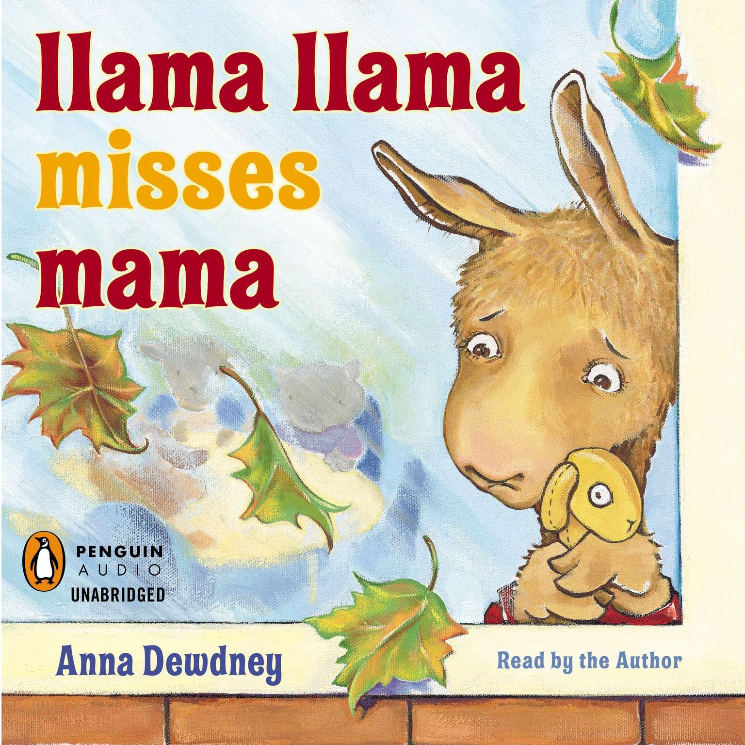 Printable Llama Llama Misses Mama Audiobook Cover Art