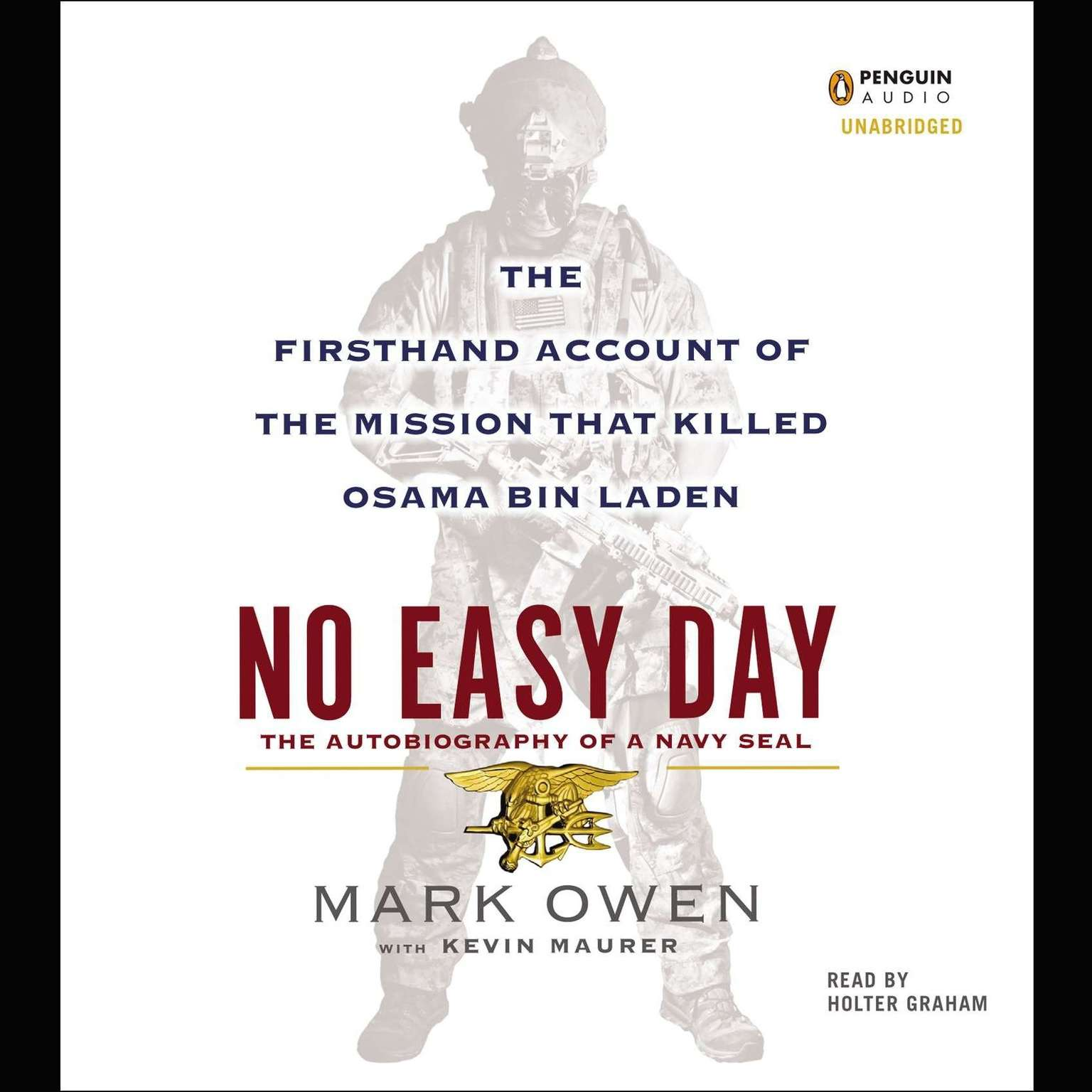 Printable No Easy Day: The Firsthand Account of the Mission That Killed Osama Bin Laden Audiobook Cover Art