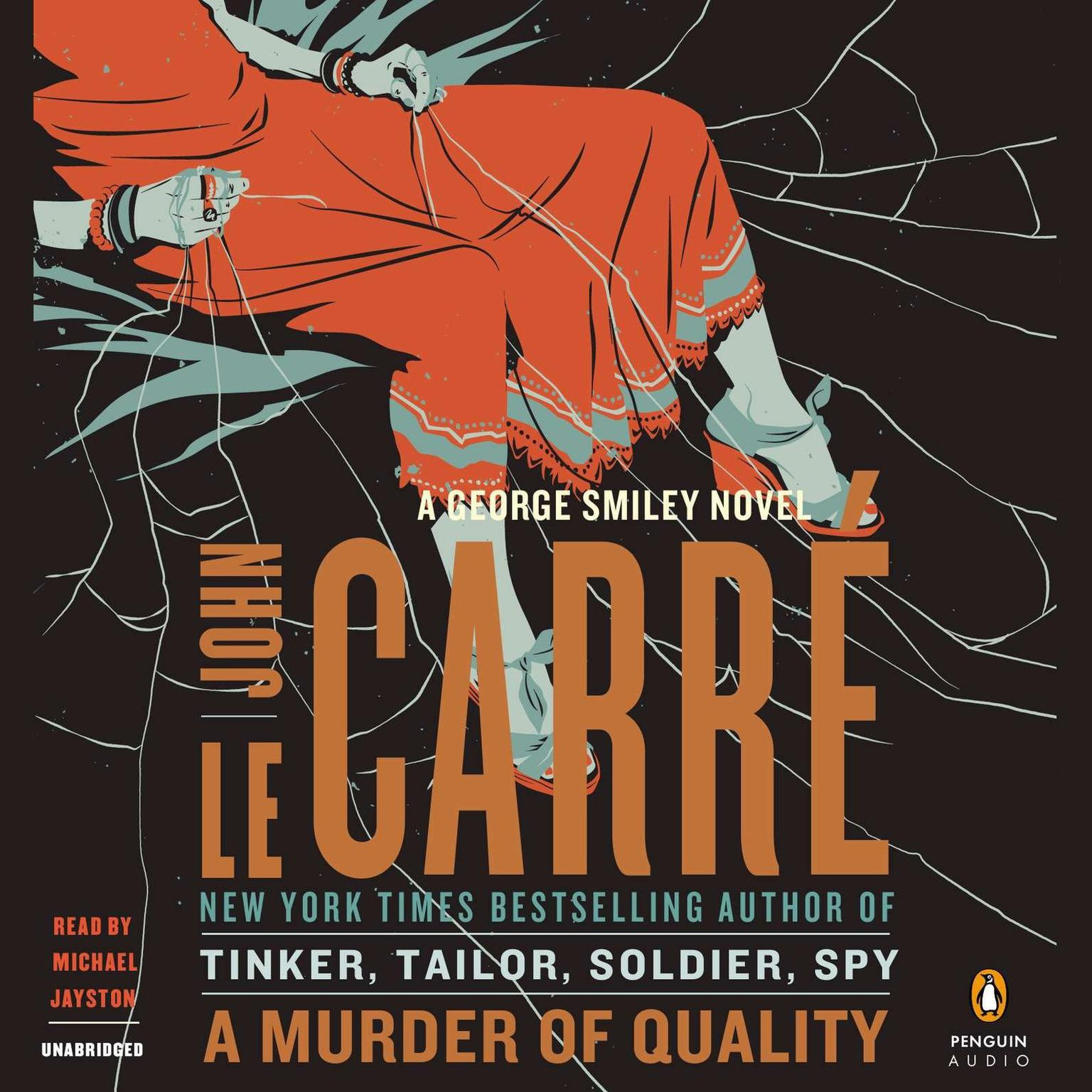 Printable A Murder of Quality: A George Smiley Novel Audiobook Cover Art