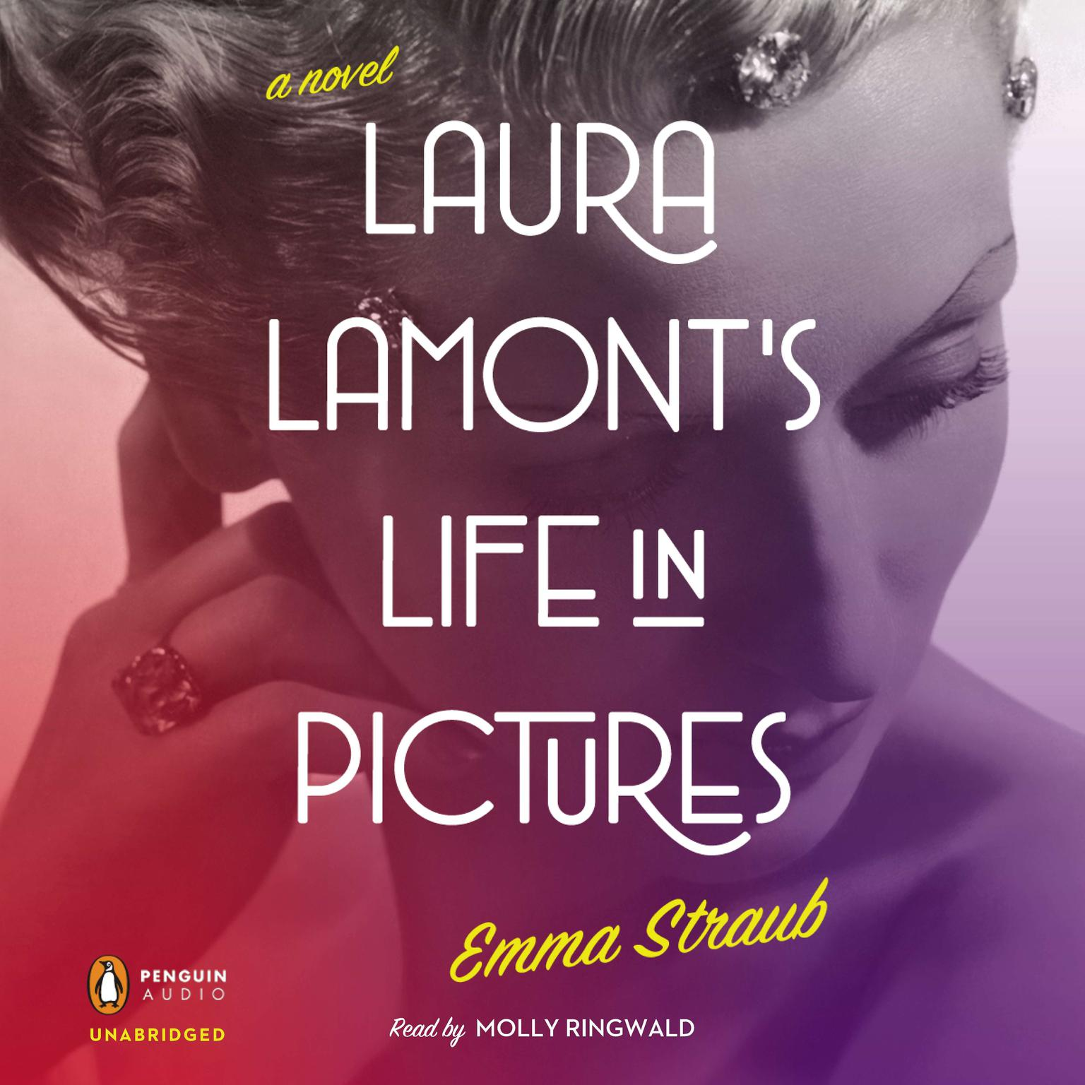 Printable Laura Lamont's Life in Pictures Audiobook Cover Art
