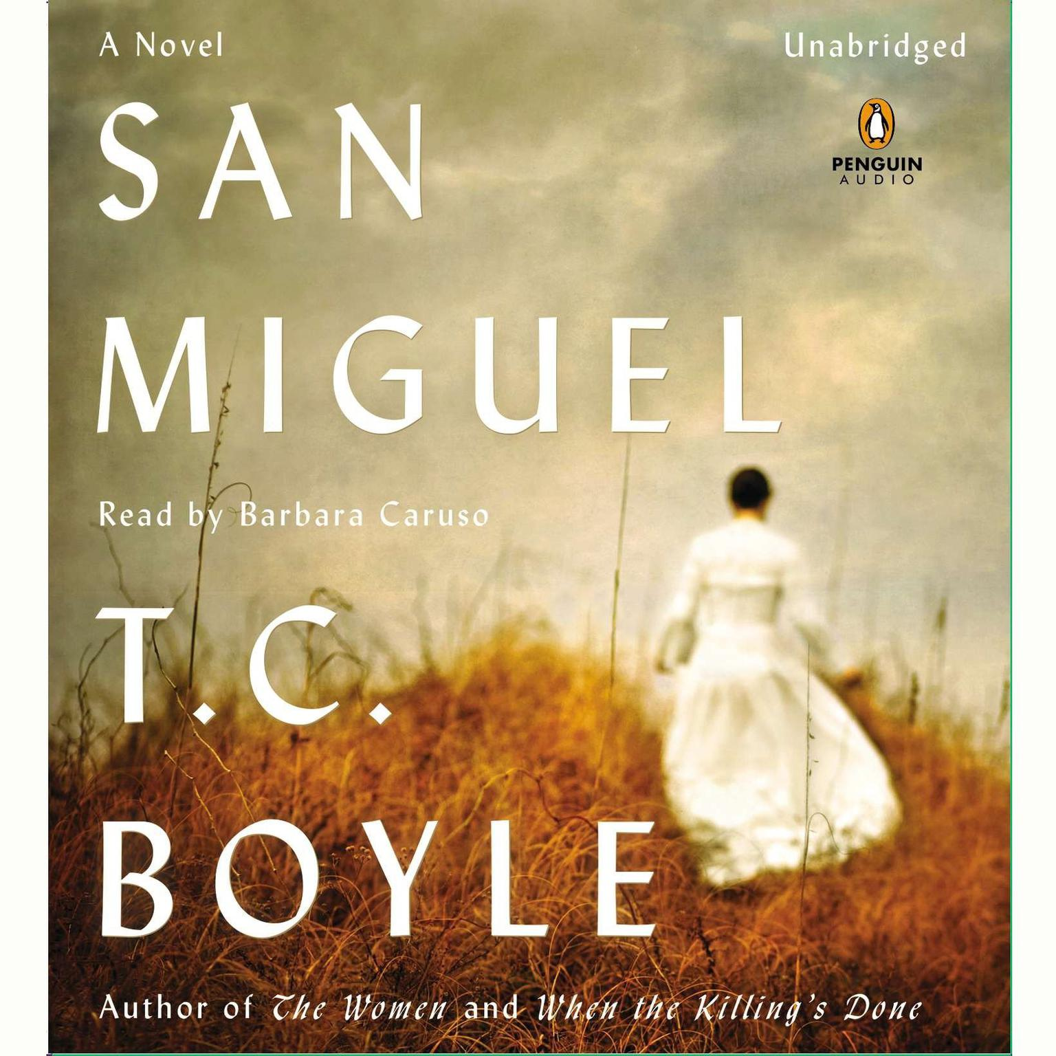 Printable San Miguel Audiobook Cover Art