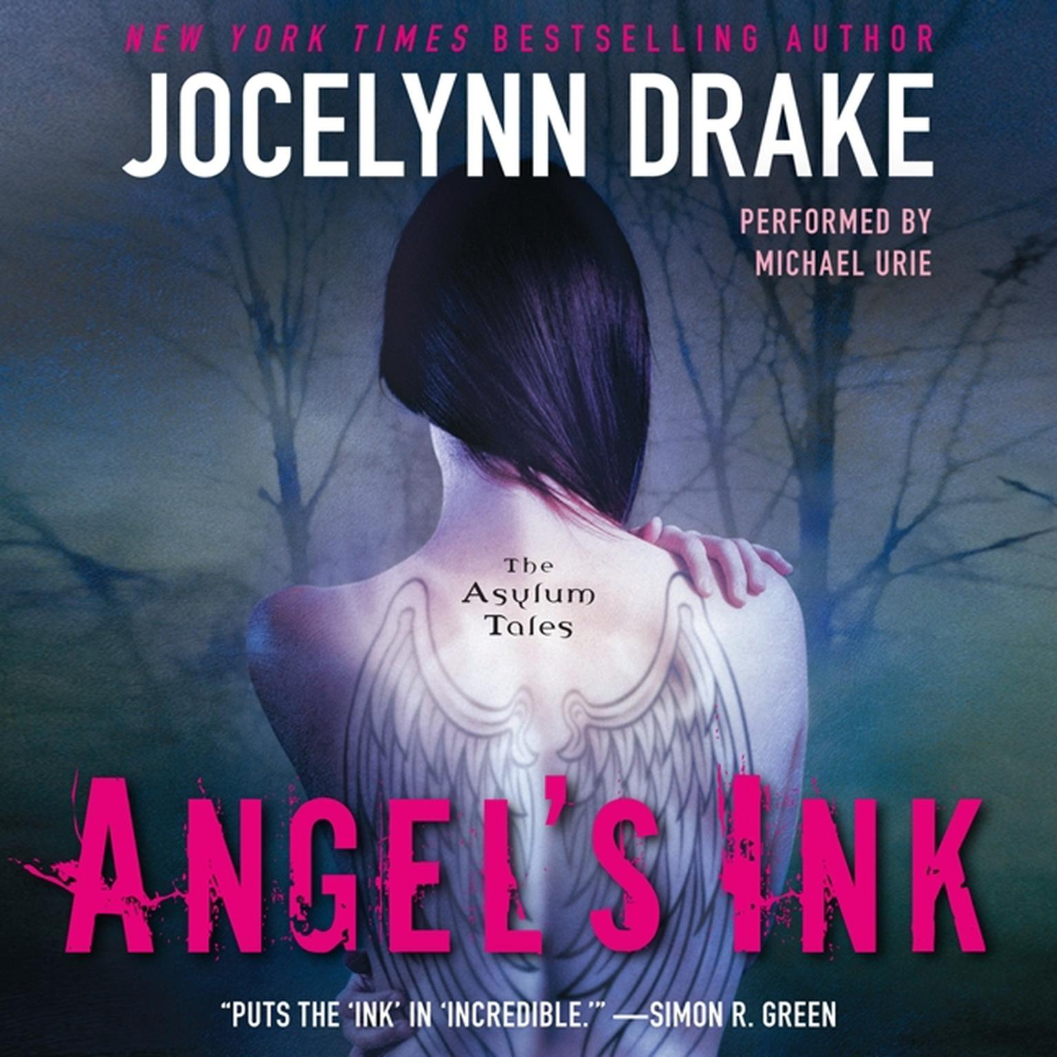 Printable Angel's Ink: The Asylum Tales Audiobook Cover Art