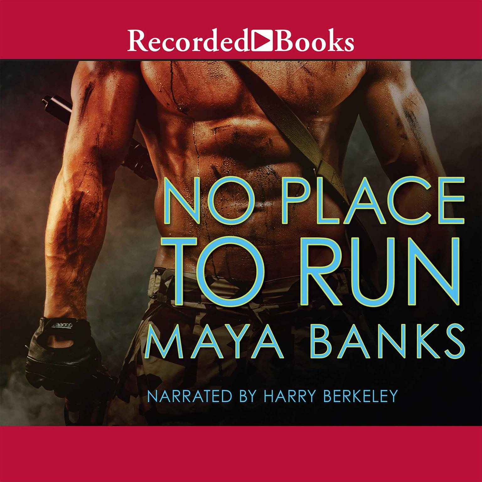Printable No Place to Run Audiobook Cover Art