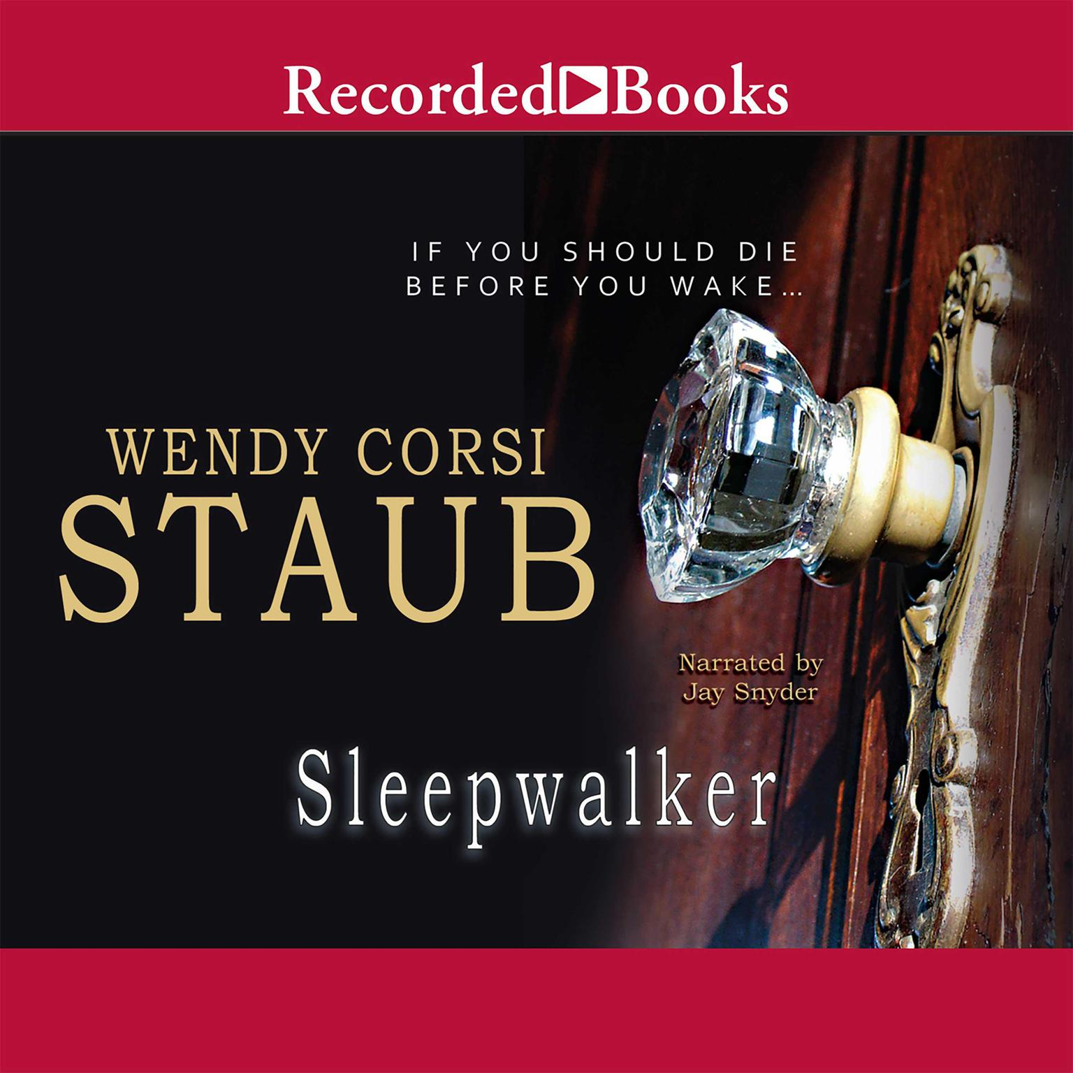Printable Sleepwalker Audiobook Cover Art