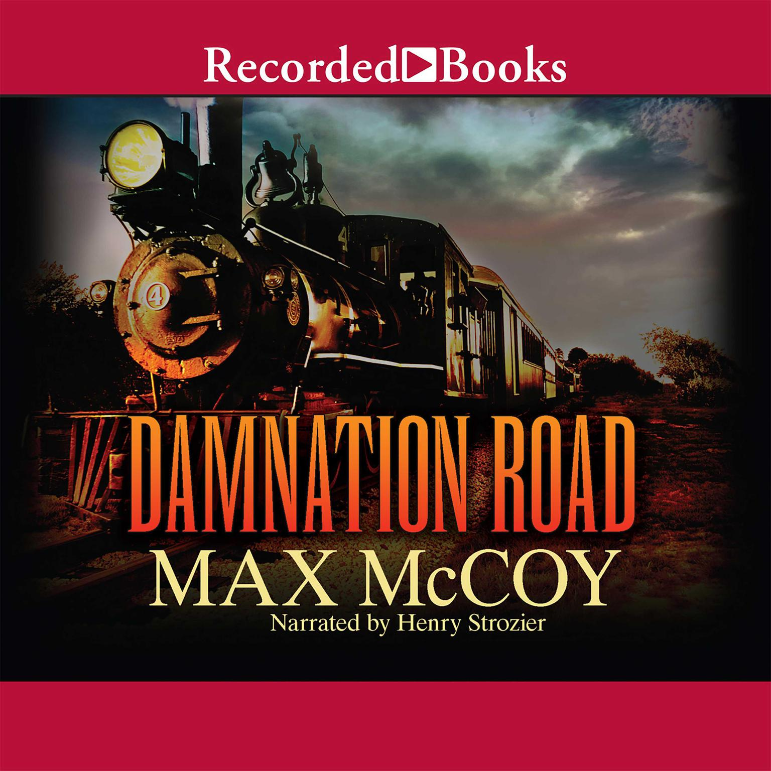 Printable Damnation Road Audiobook Cover Art