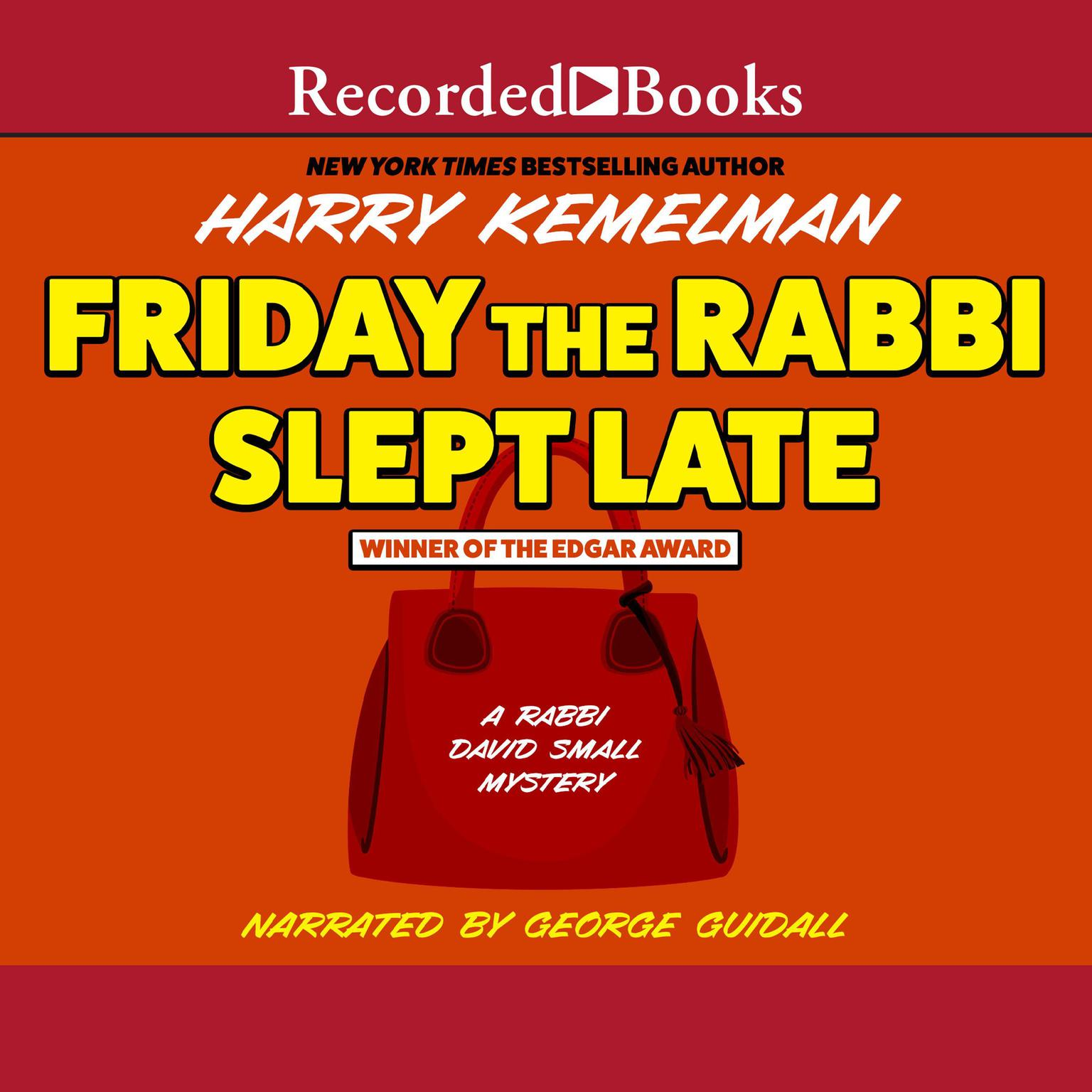 Printable Friday the Rabbi Slept Late Audiobook Cover Art