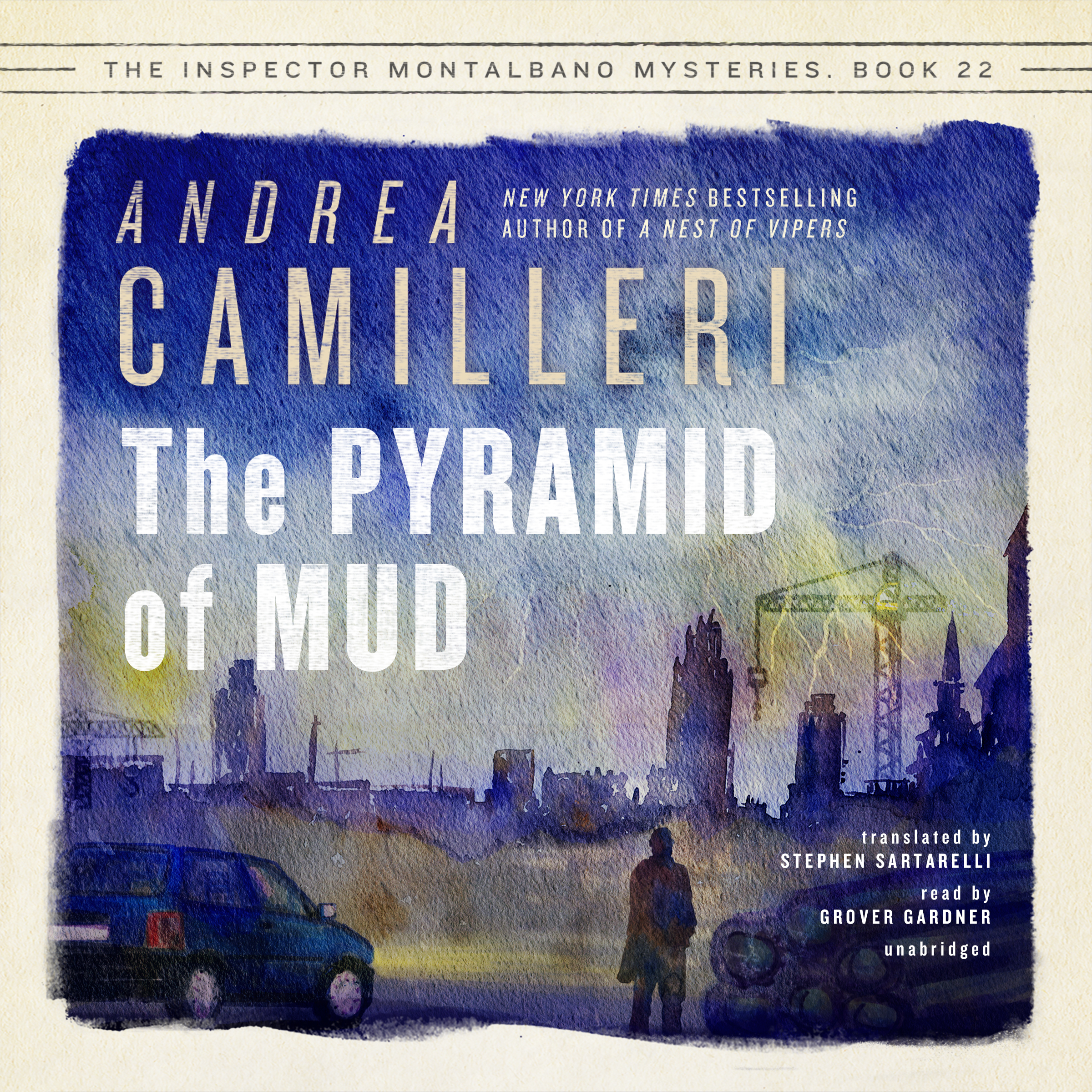 Printable The Pyramid of Mud Audiobook Cover Art
