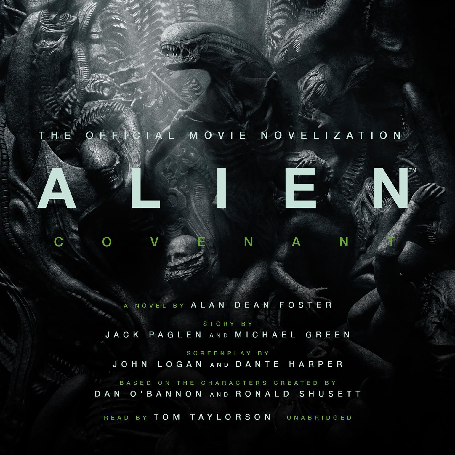Printable Alien: Covenant: A Novel Audiobook Cover Art