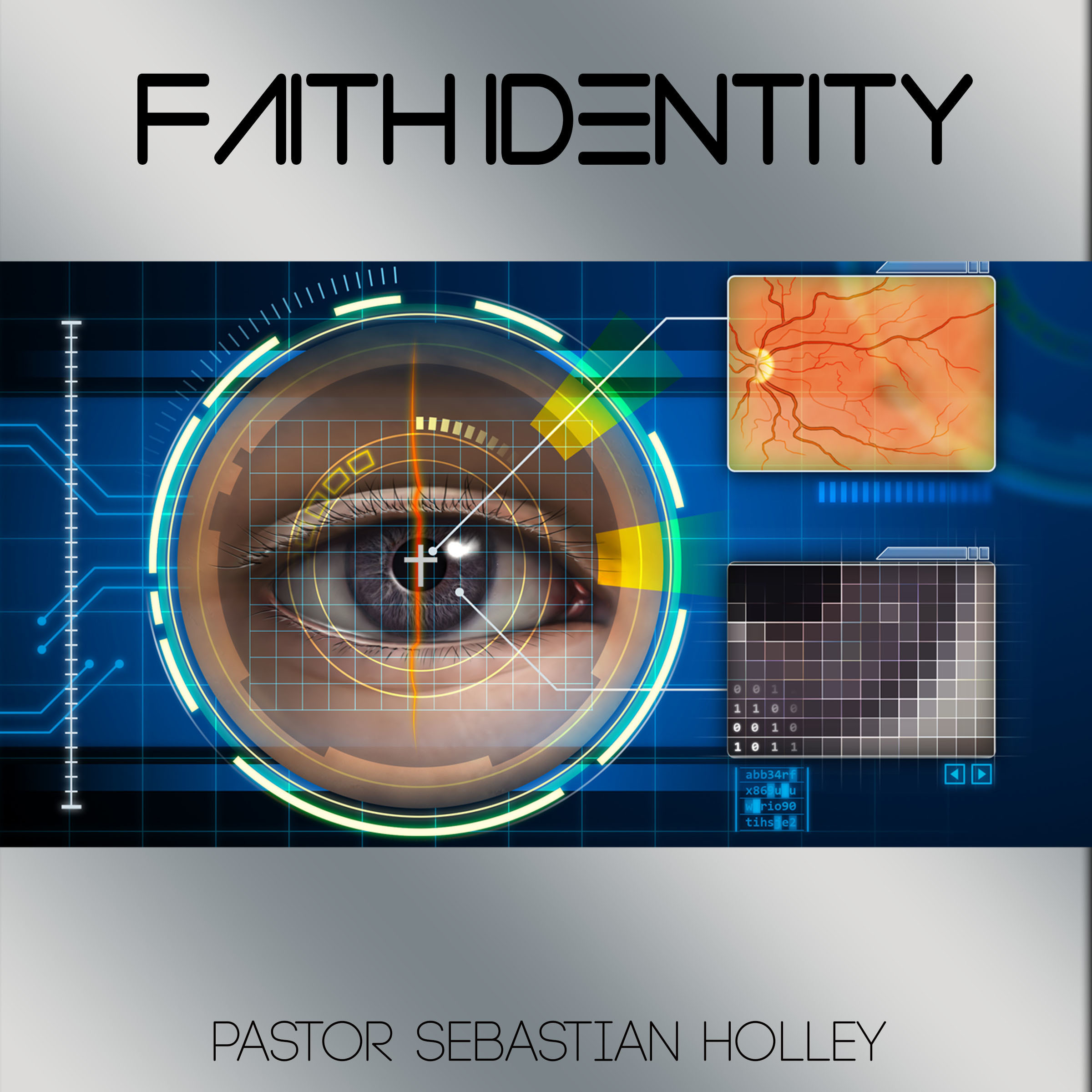Printable Faith Identity Audiobook Cover Art