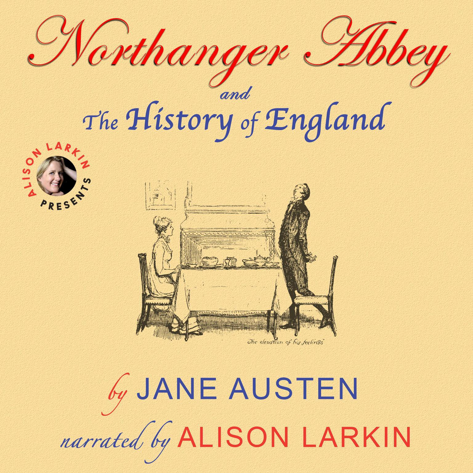 Printable Northanger Abbey and The History of England Audiobook Cover Art