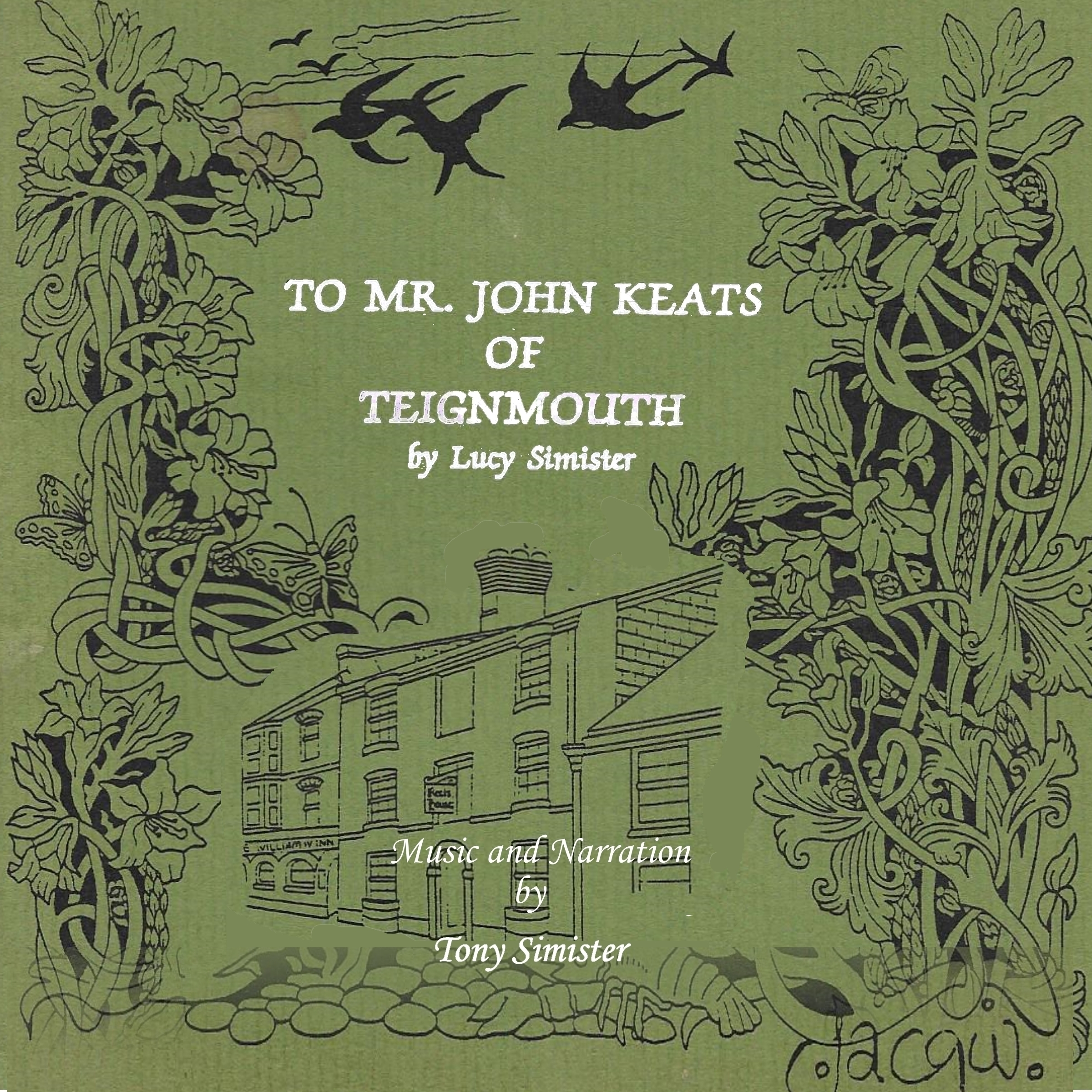 Printable To Mr. John Keats of Teignmouth Audiobook Cover Art