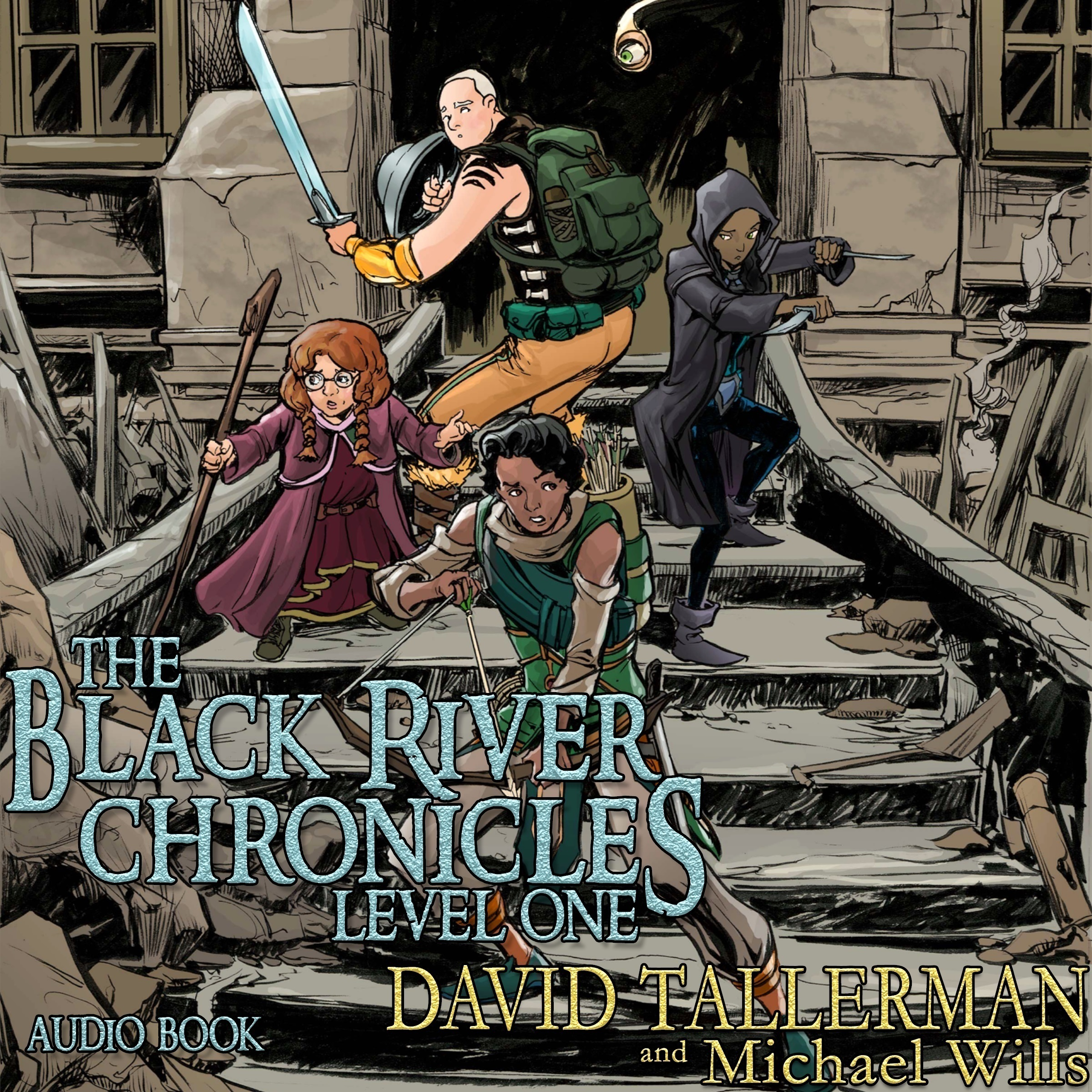 Printable The Black River Chronicles: Level One Audiobook Cover Art