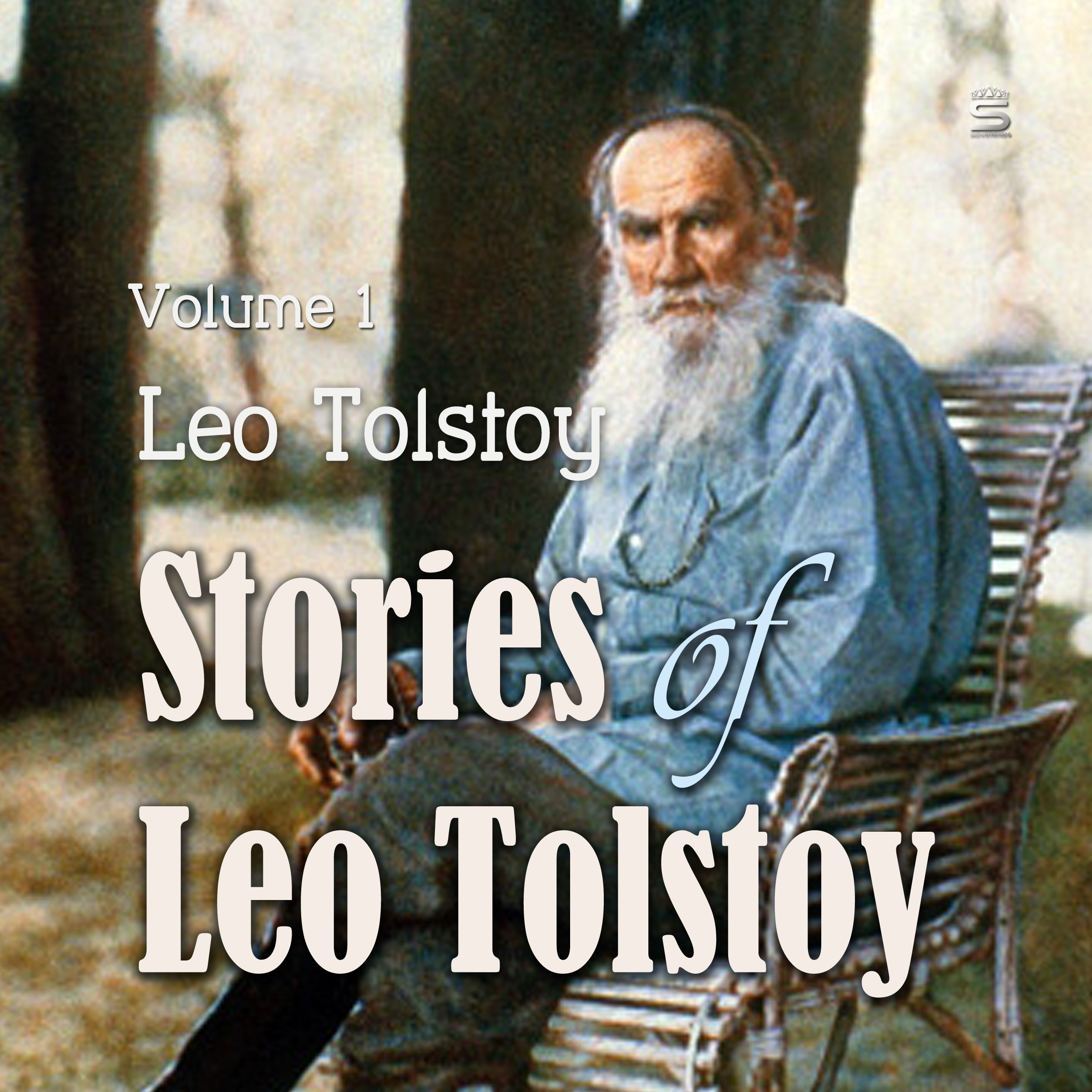 Printable Stories of Leo Tolstoy Volime 1 Audiobook Cover Art