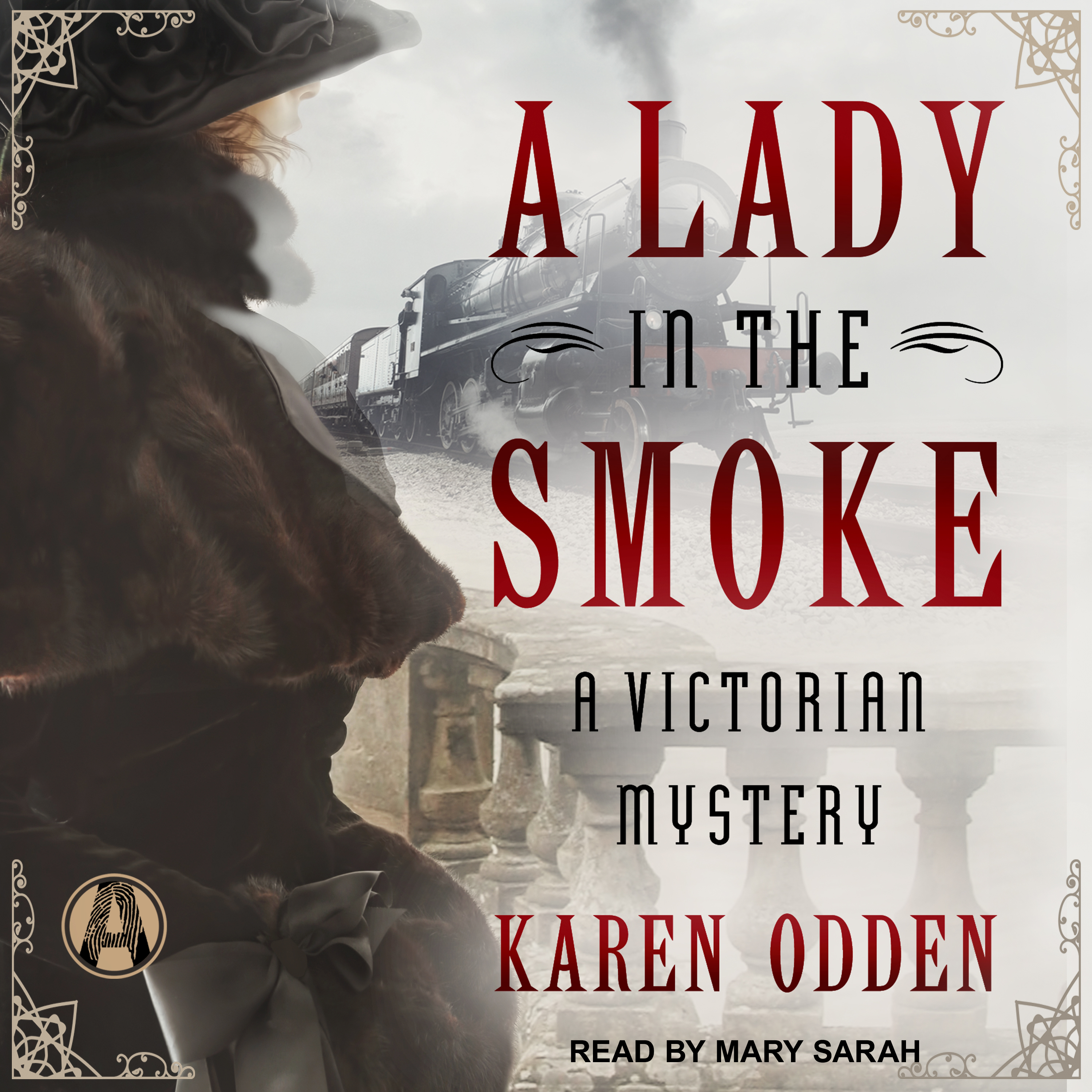 Printable A Lady in the Smoke: A Victorian Mystery Audiobook Cover Art