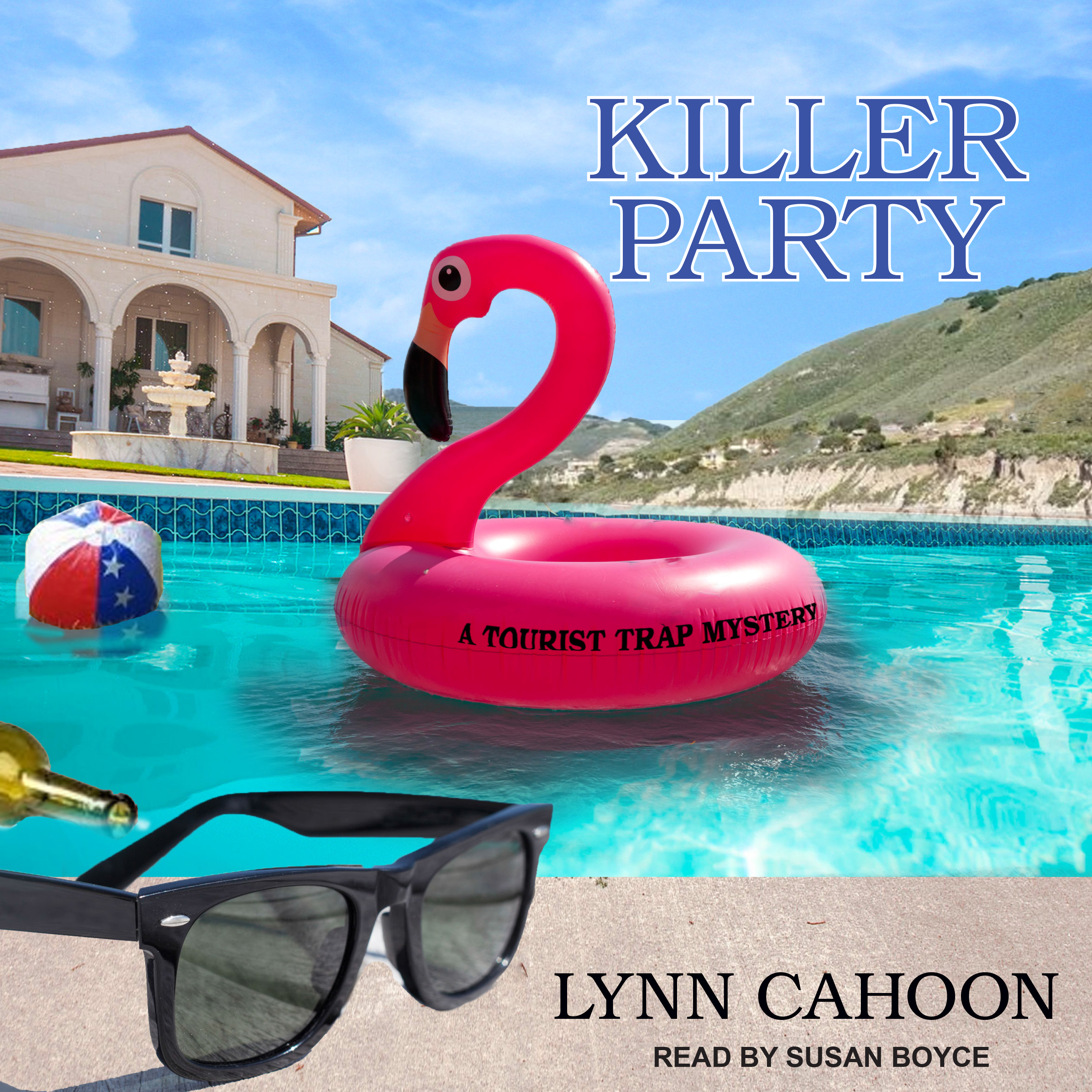 Printable Killer Party Audiobook Cover Art