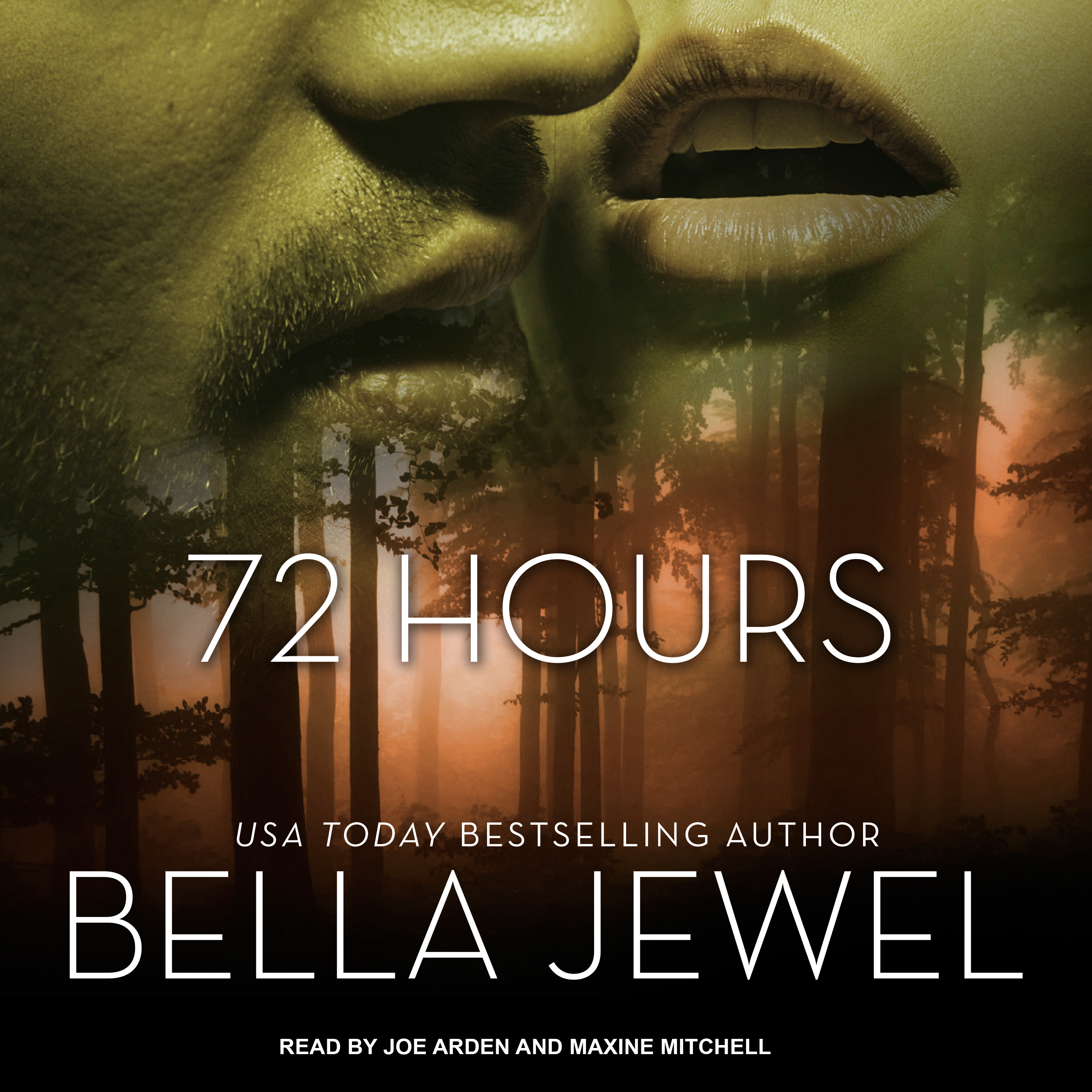 Printable 72 Hours Audiobook Cover Art