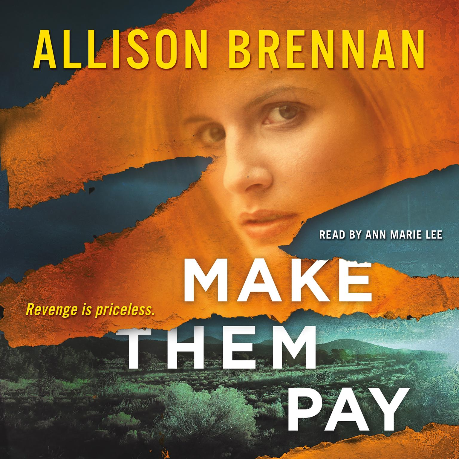 Printable Make Them Pay Audiobook Cover Art