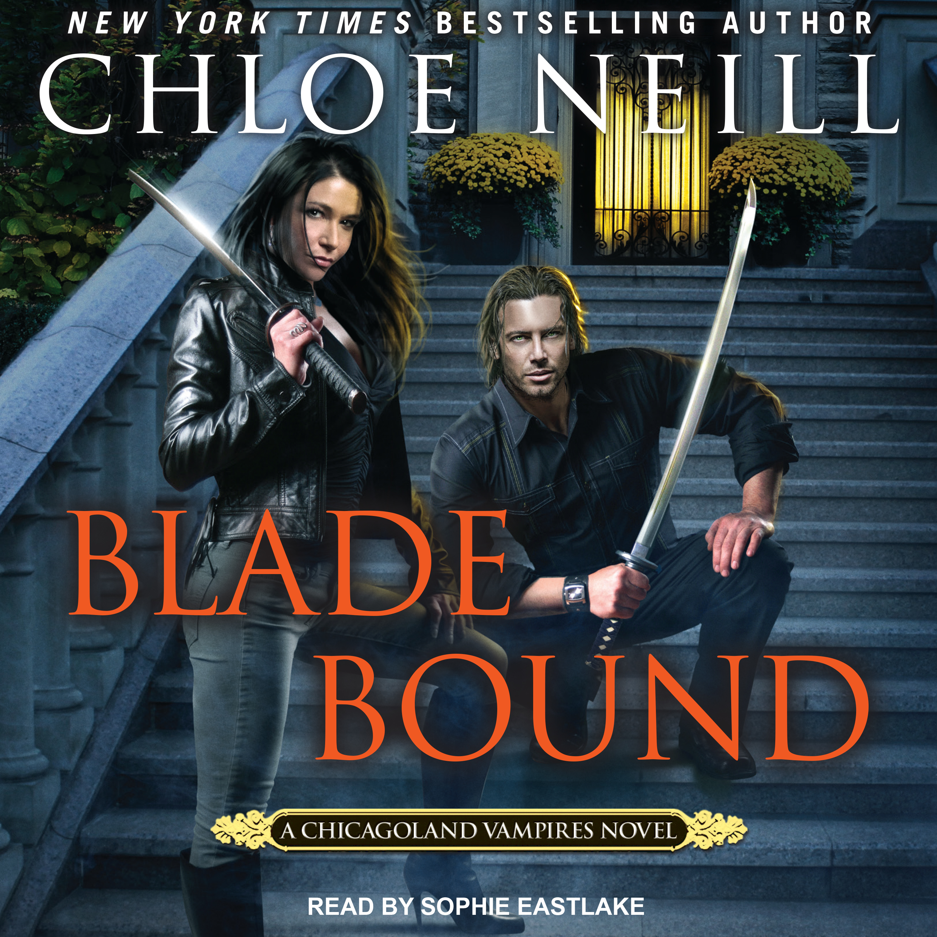 Printable Blade Bound Audiobook Cover Art