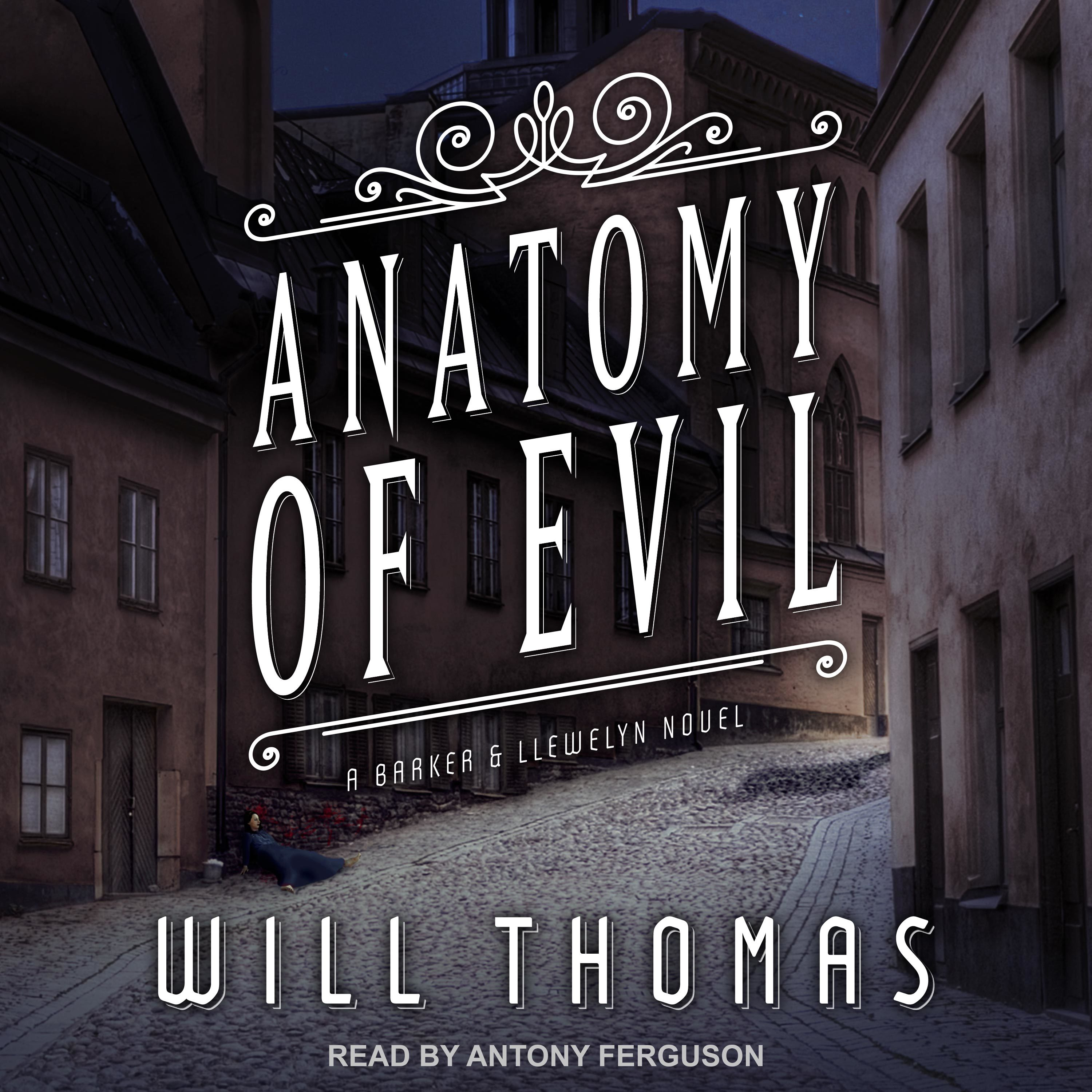 Printable Anatomy of Evil Audiobook Cover Art