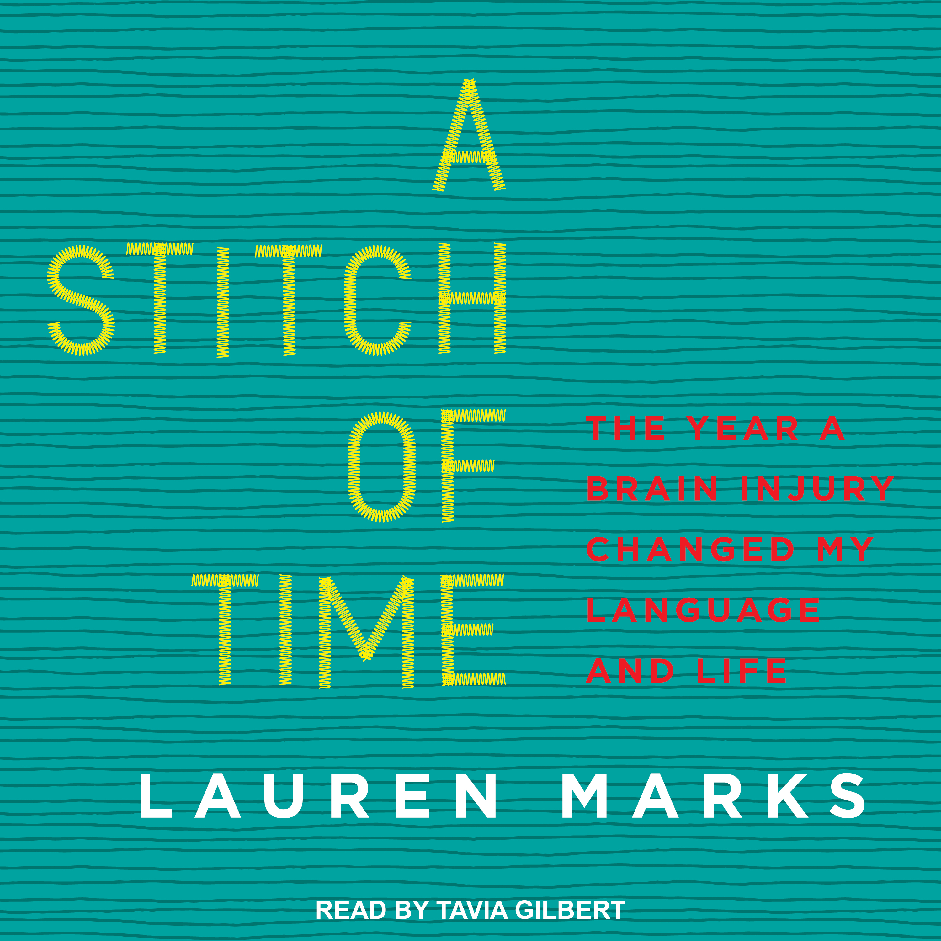 Printable A Stitch of Time: The Year a Brain Injury Changed My Language and Life Audiobook Cover Art