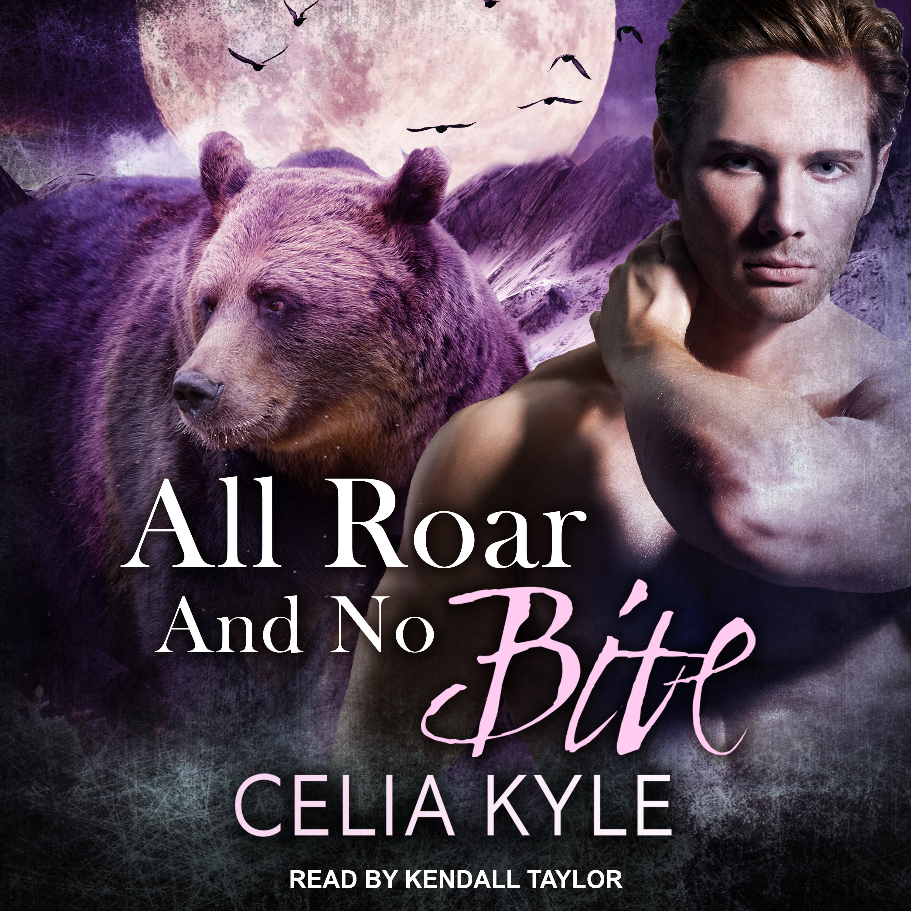 Printable All Roar and No Bite Audiobook Cover Art