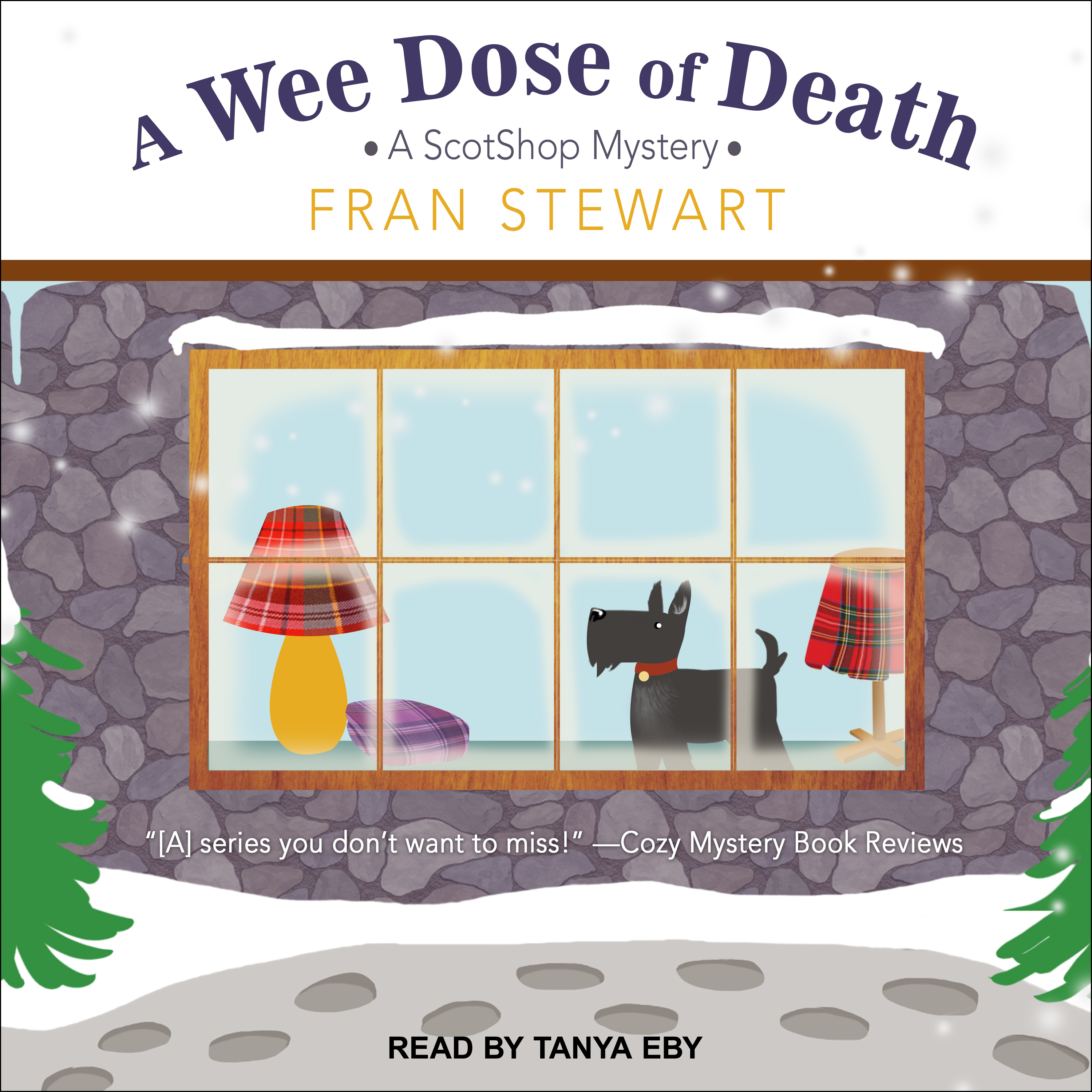 Printable A Wee Dose of Death Audiobook Cover Art