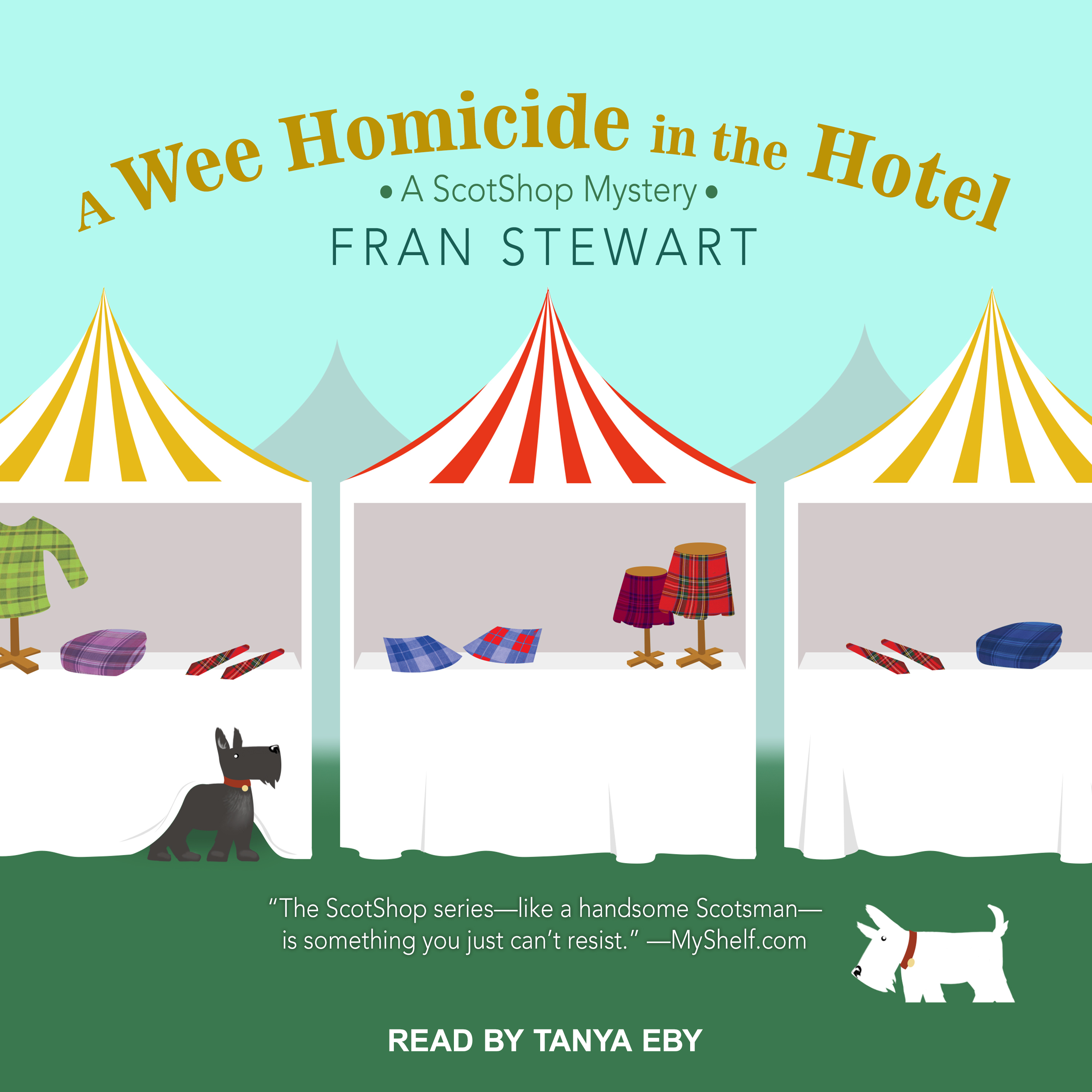Printable A Wee Homicide in the Hotel Audiobook Cover Art