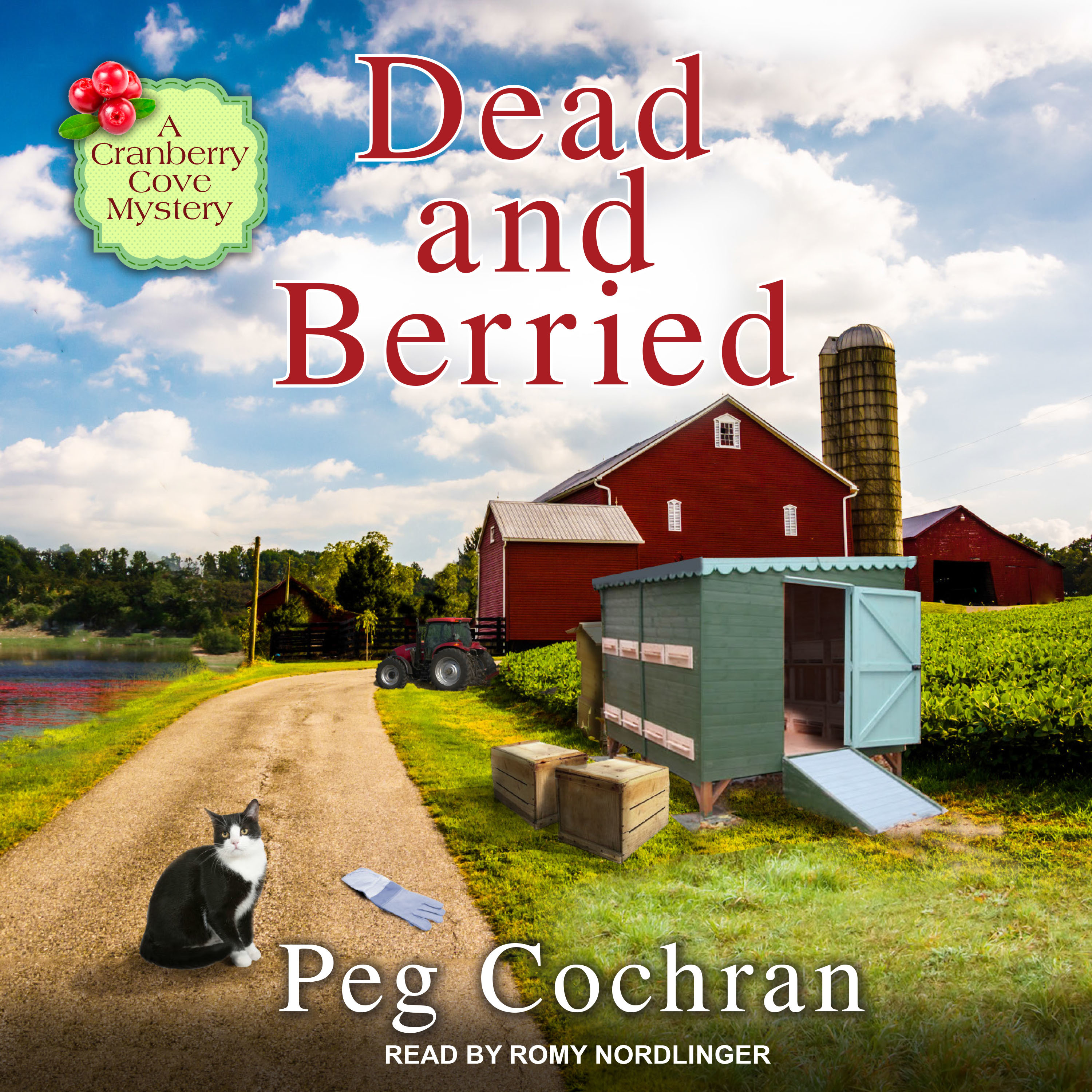 Printable Dead and Berried Audiobook Cover Art