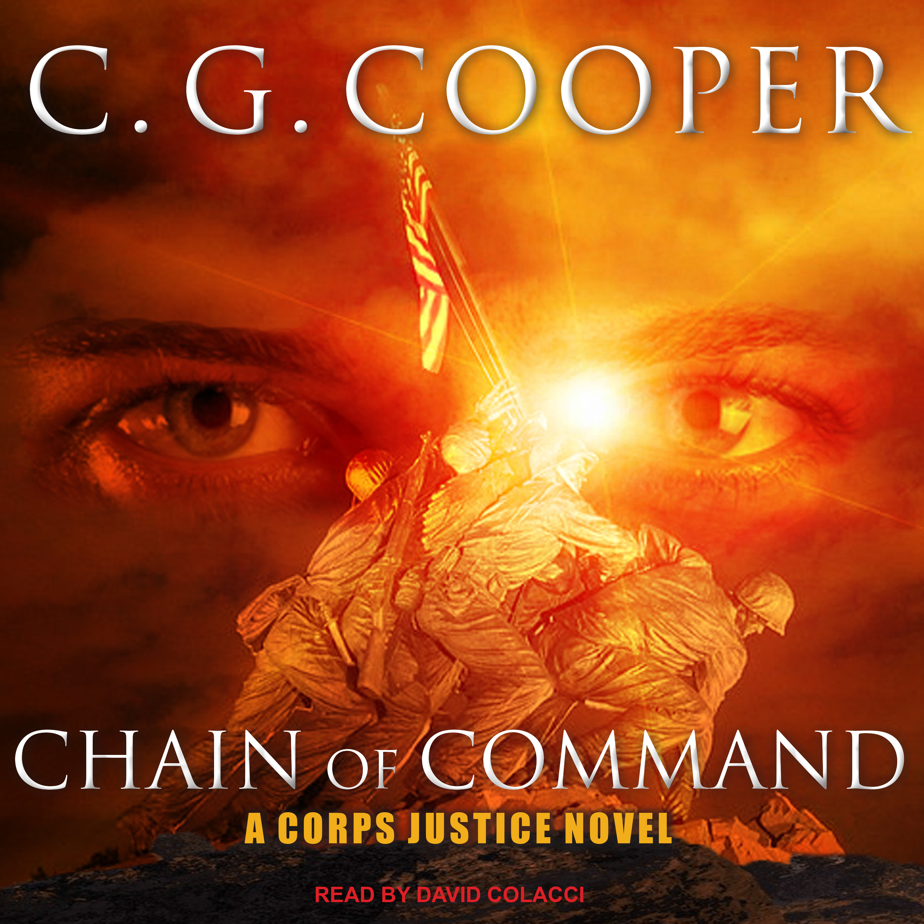 Printable Chain of Command: A Marine Corps Adventure Audiobook Cover Art