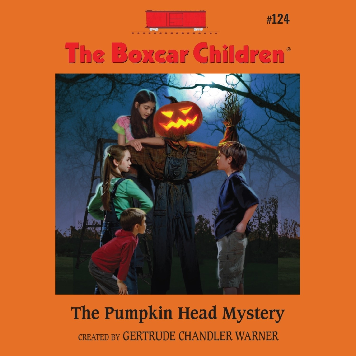 Printable The Pumpkin Head Mystery Audiobook Cover Art