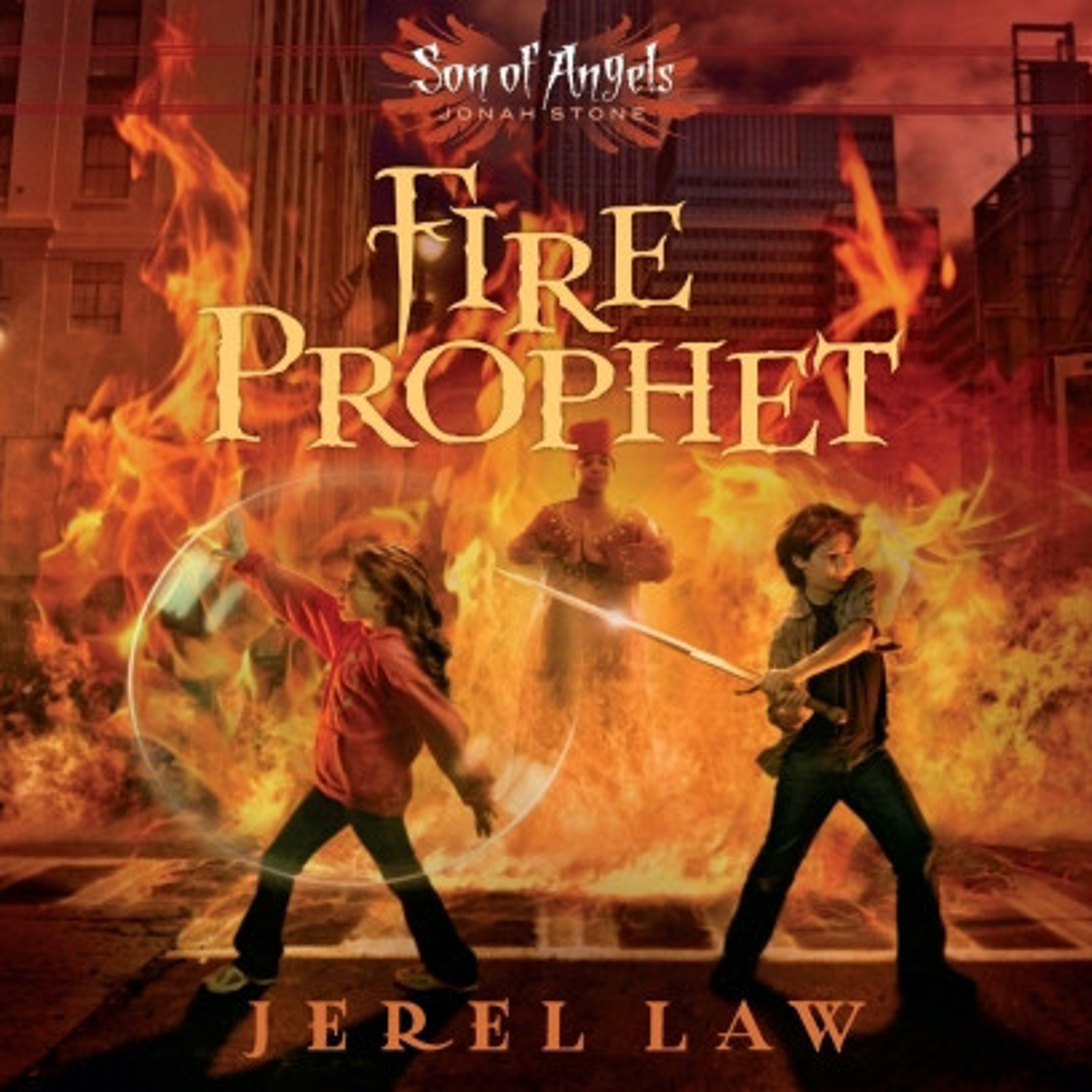 Printable Fire Prophet Audiobook Cover Art