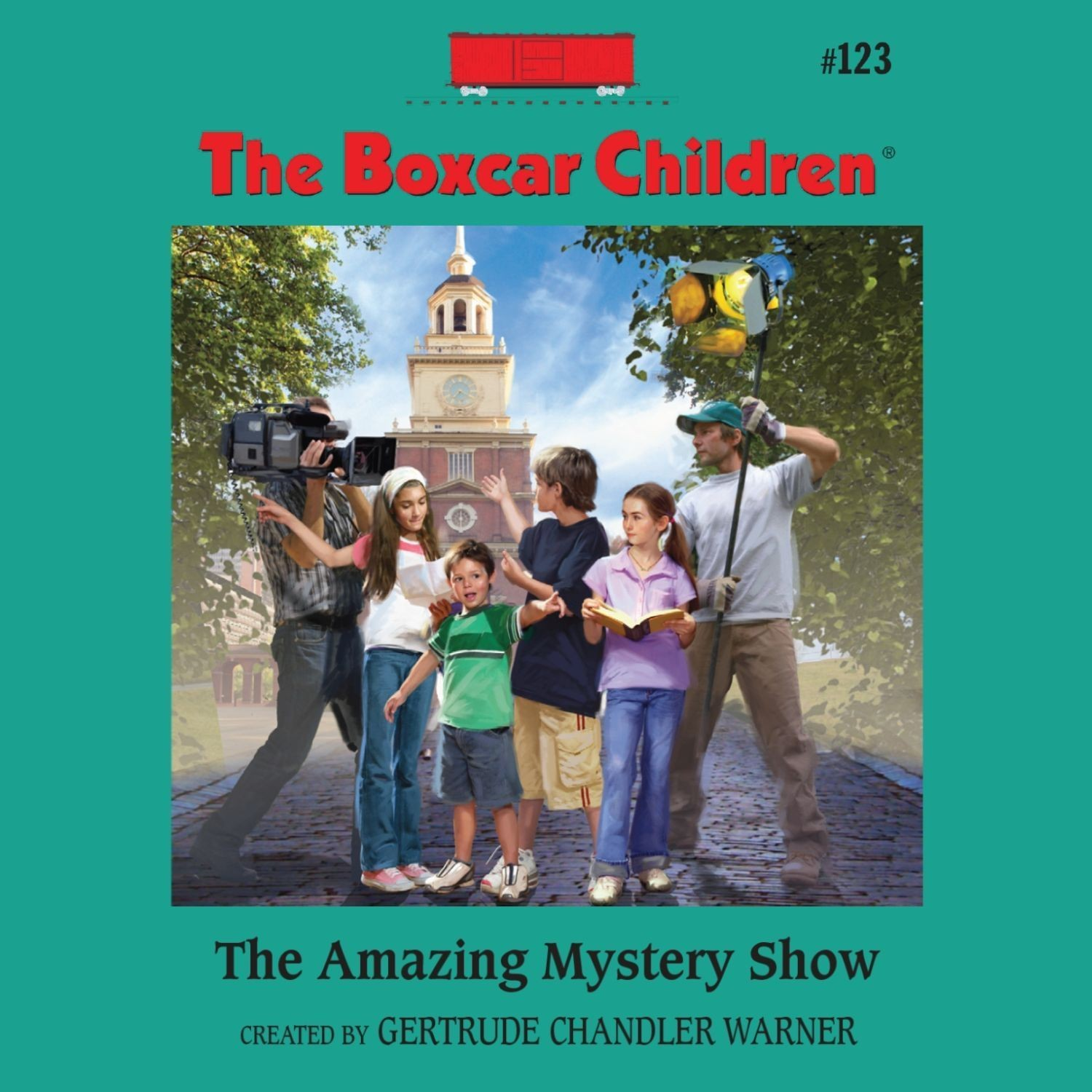 Printable The Amazing Mystery Show Audiobook Cover Art