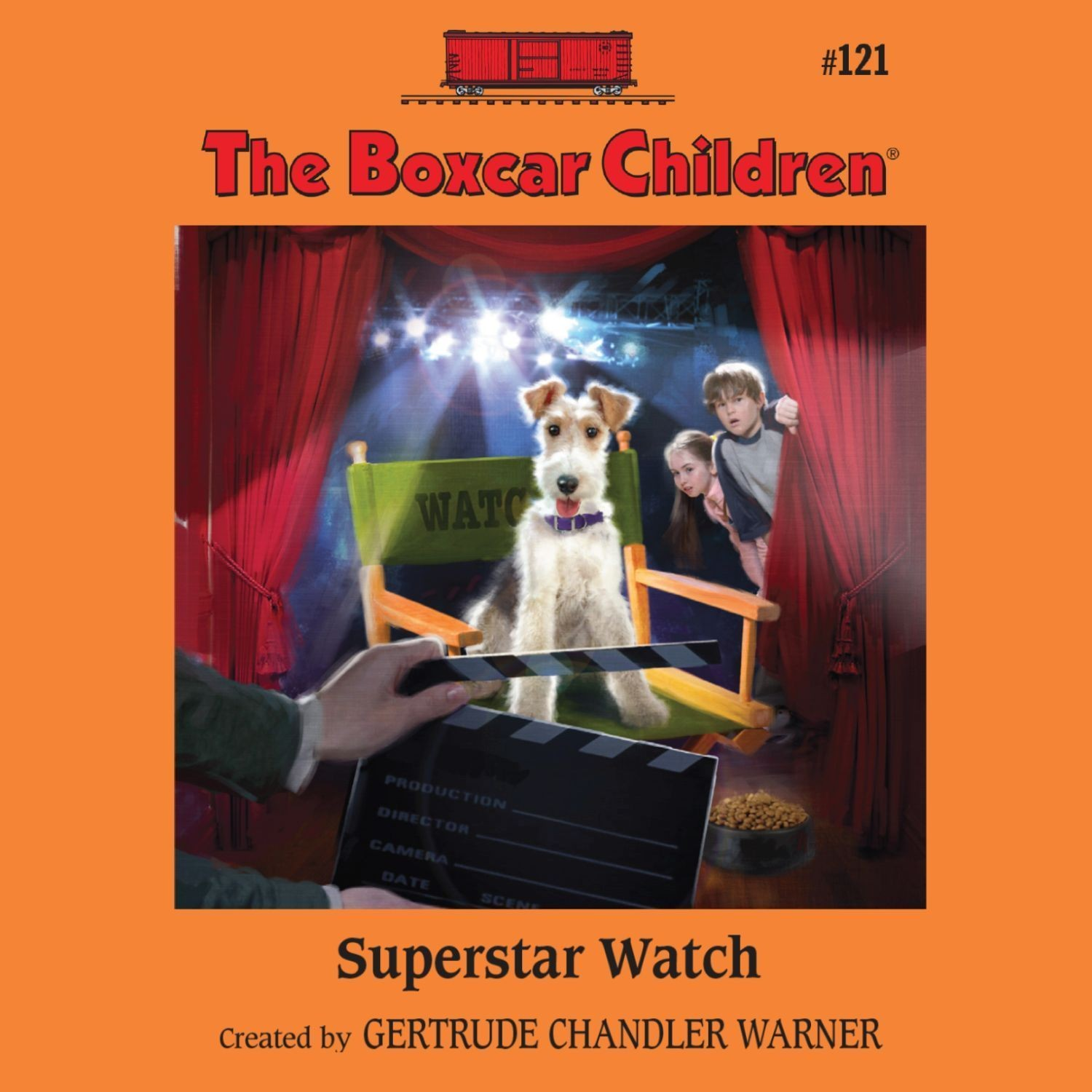 Printable Superstar Watch Audiobook Cover Art