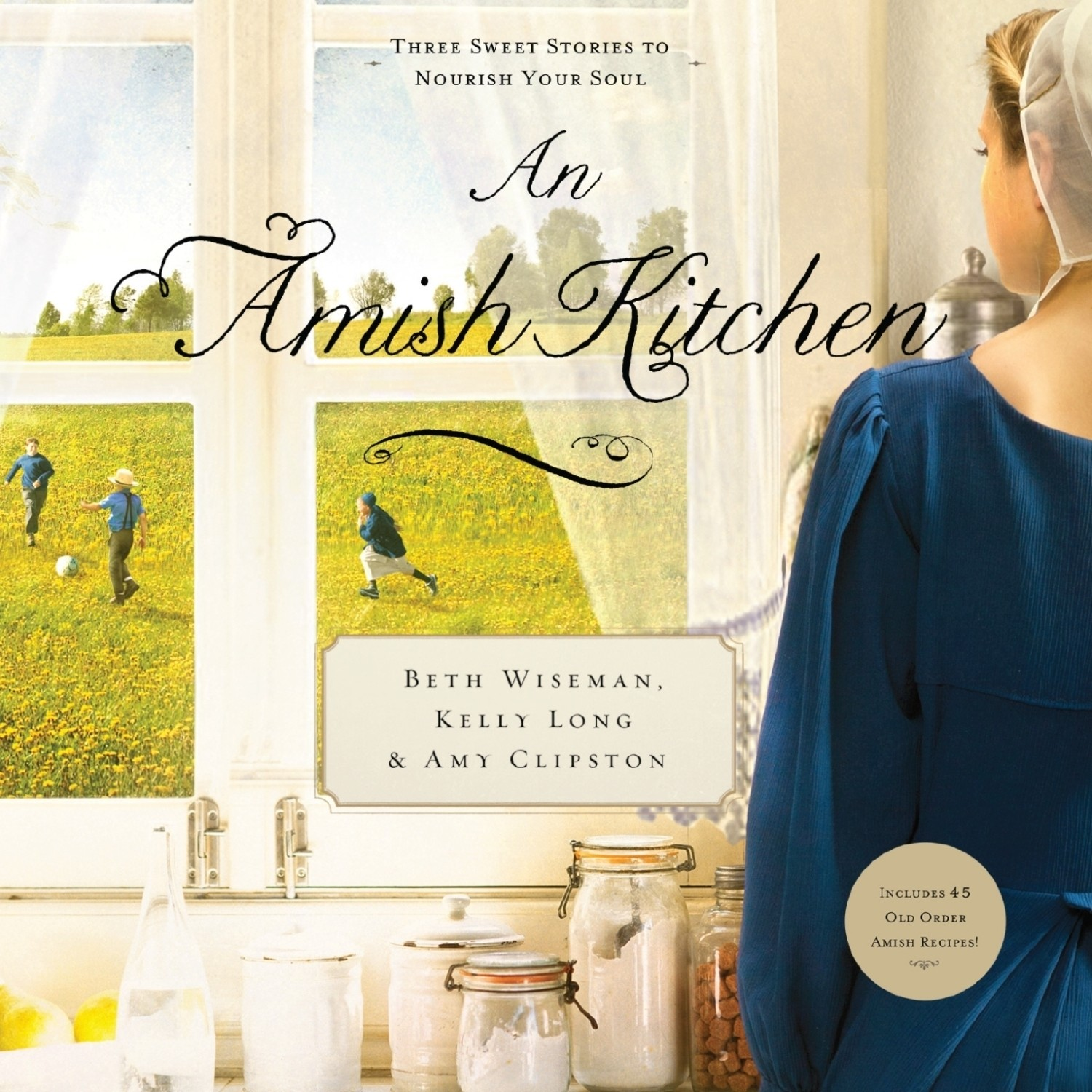 Printable An Amish Kitchen Audiobook Cover Art