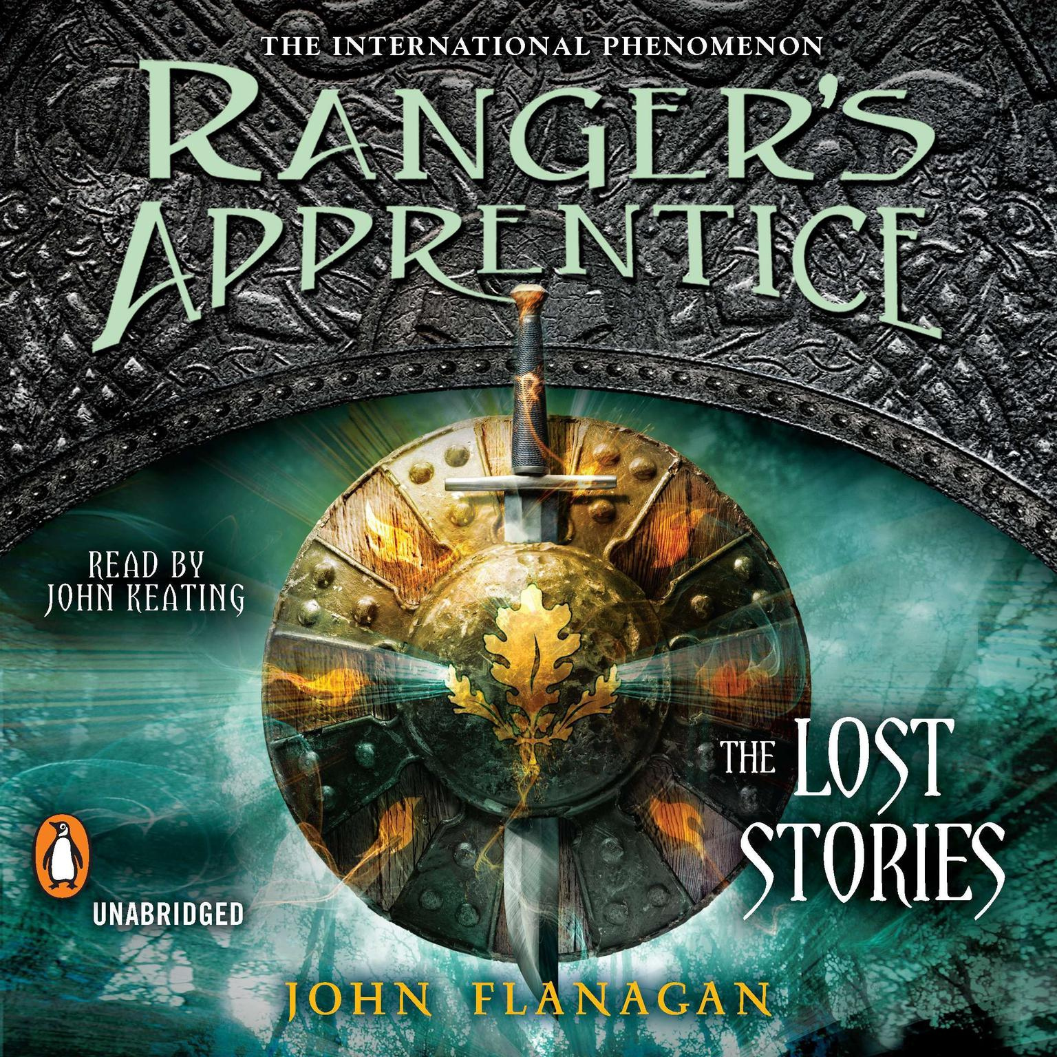 Printable Ranger's Apprentice: The Lost Stories Audiobook Cover Art