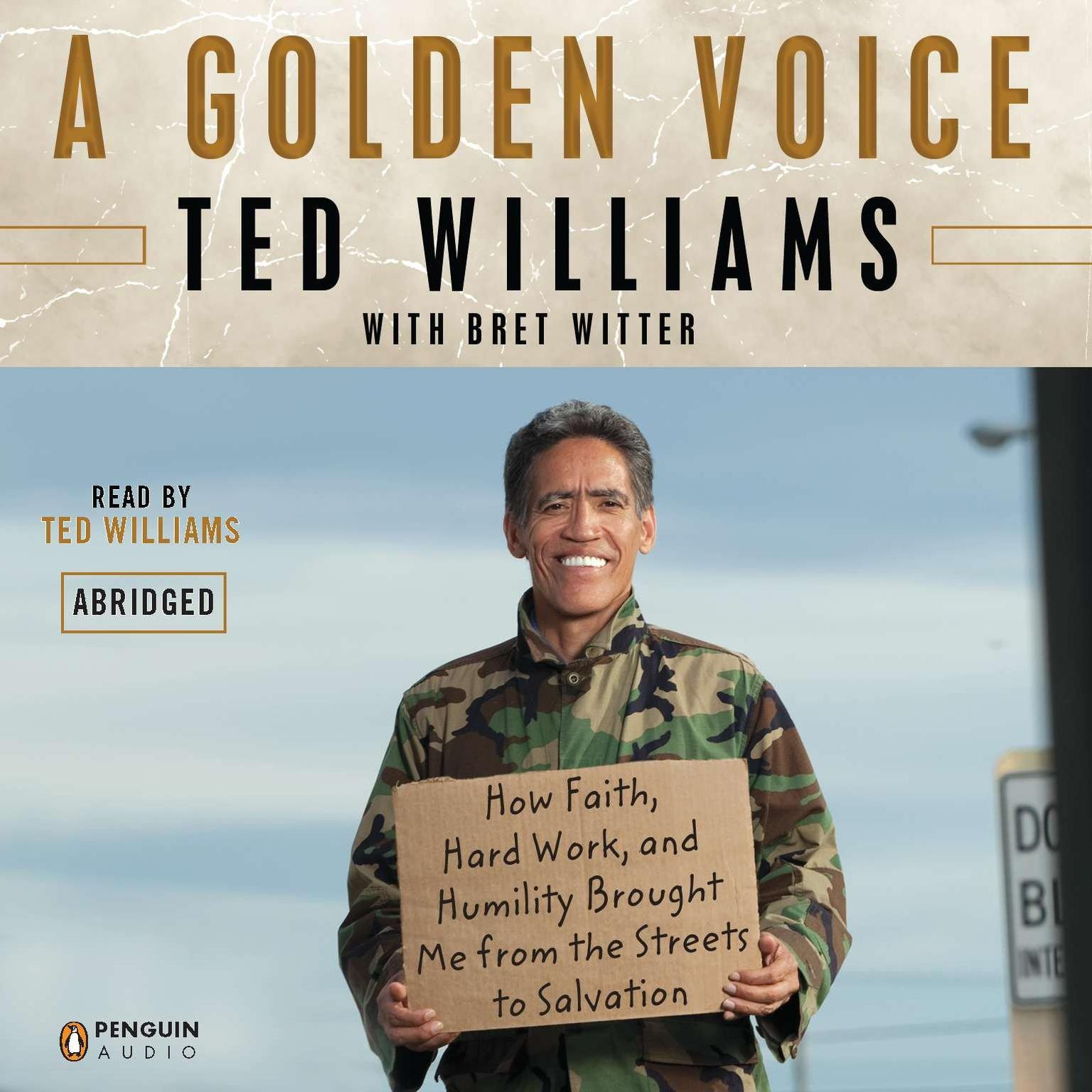 Printable A Golden Voice: How Faith, Hard Work, and Humility Brought Me from the Streets to Salvation Audiobook Cover Art