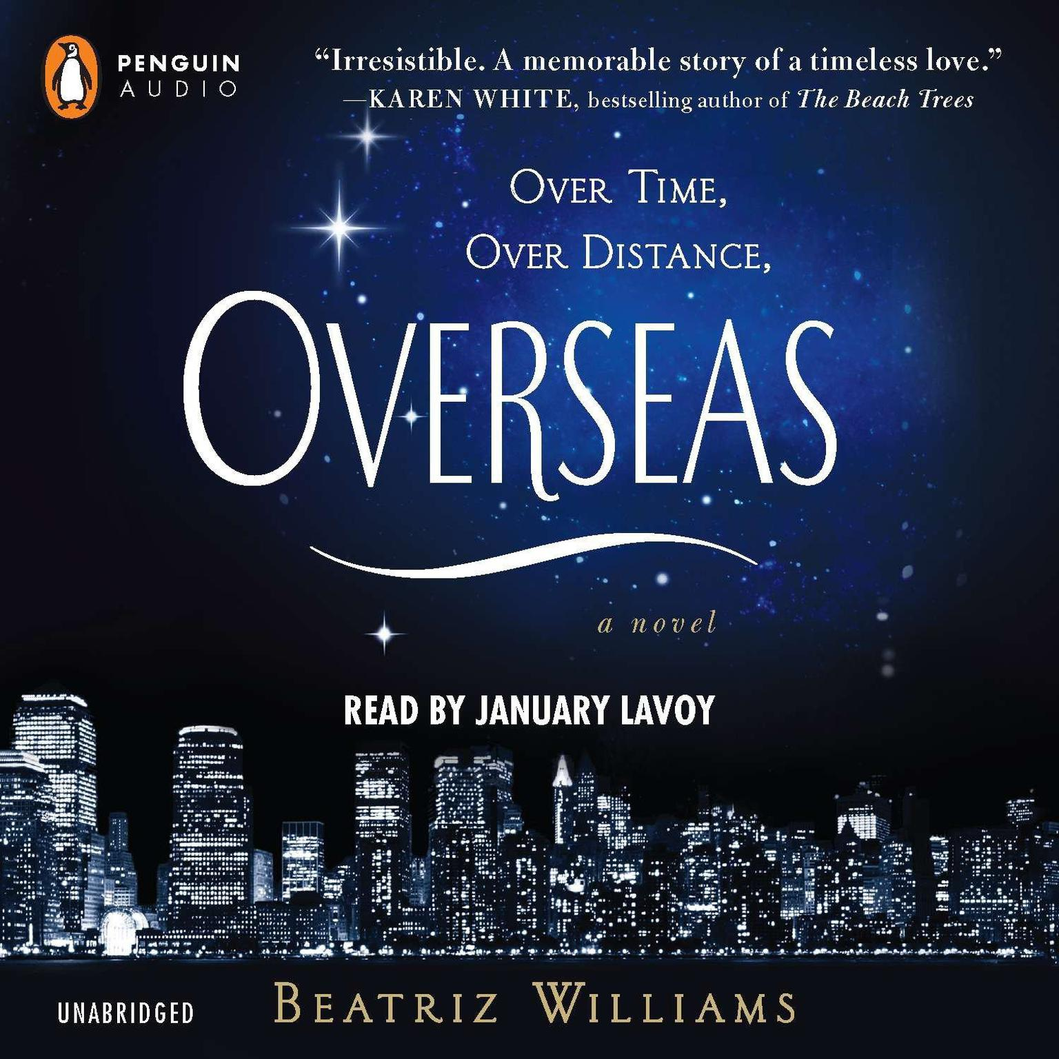 Printable Overseas Audiobook Cover Art