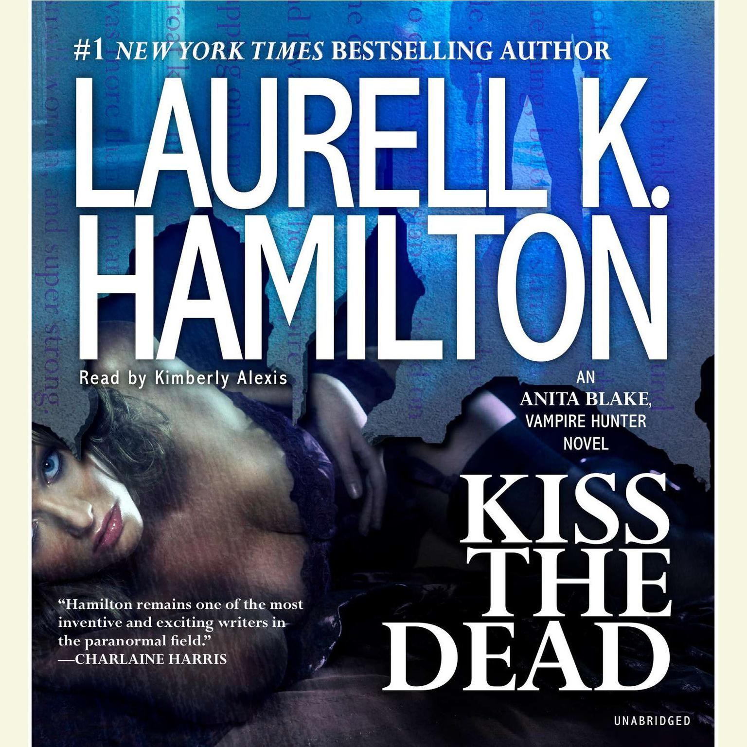 Printable Kiss the Dead: An Anita Blake, Vampire Hunter Novel Audiobook Cover Art
