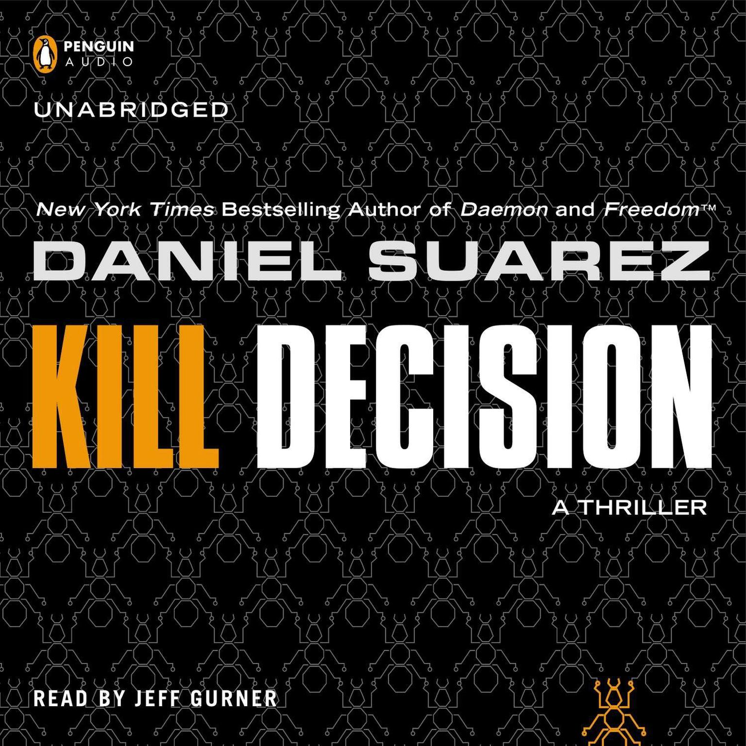 Printable Kill Decision Audiobook Cover Art