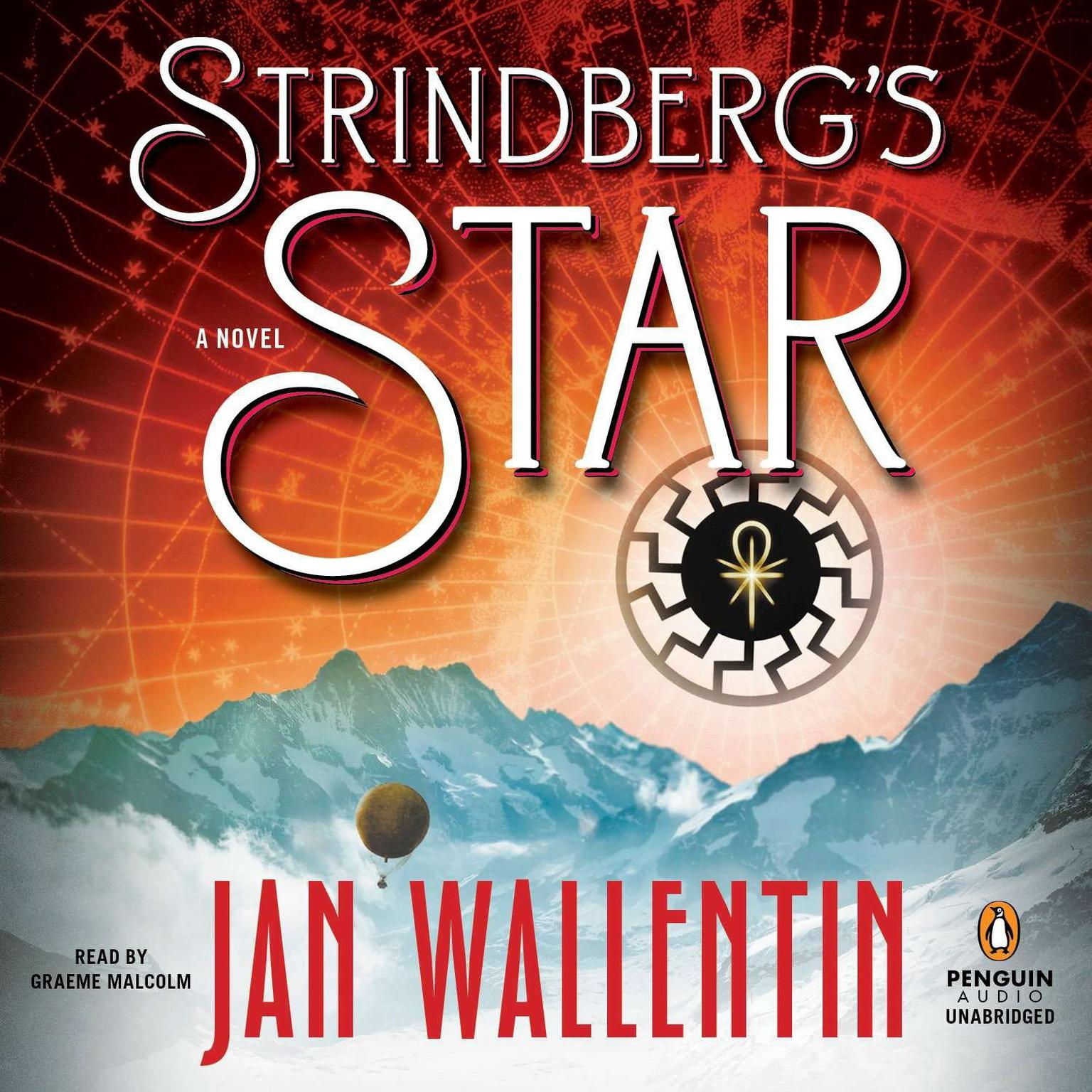 Printable Strindberg's Star Audiobook Cover Art