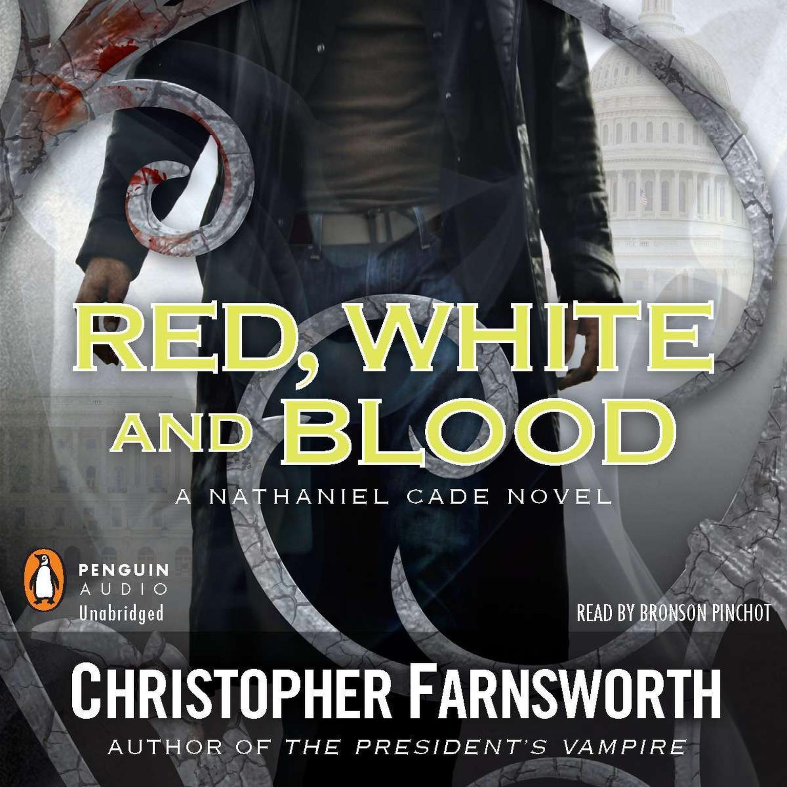 Printable Red, White, and Blood Audiobook Cover Art