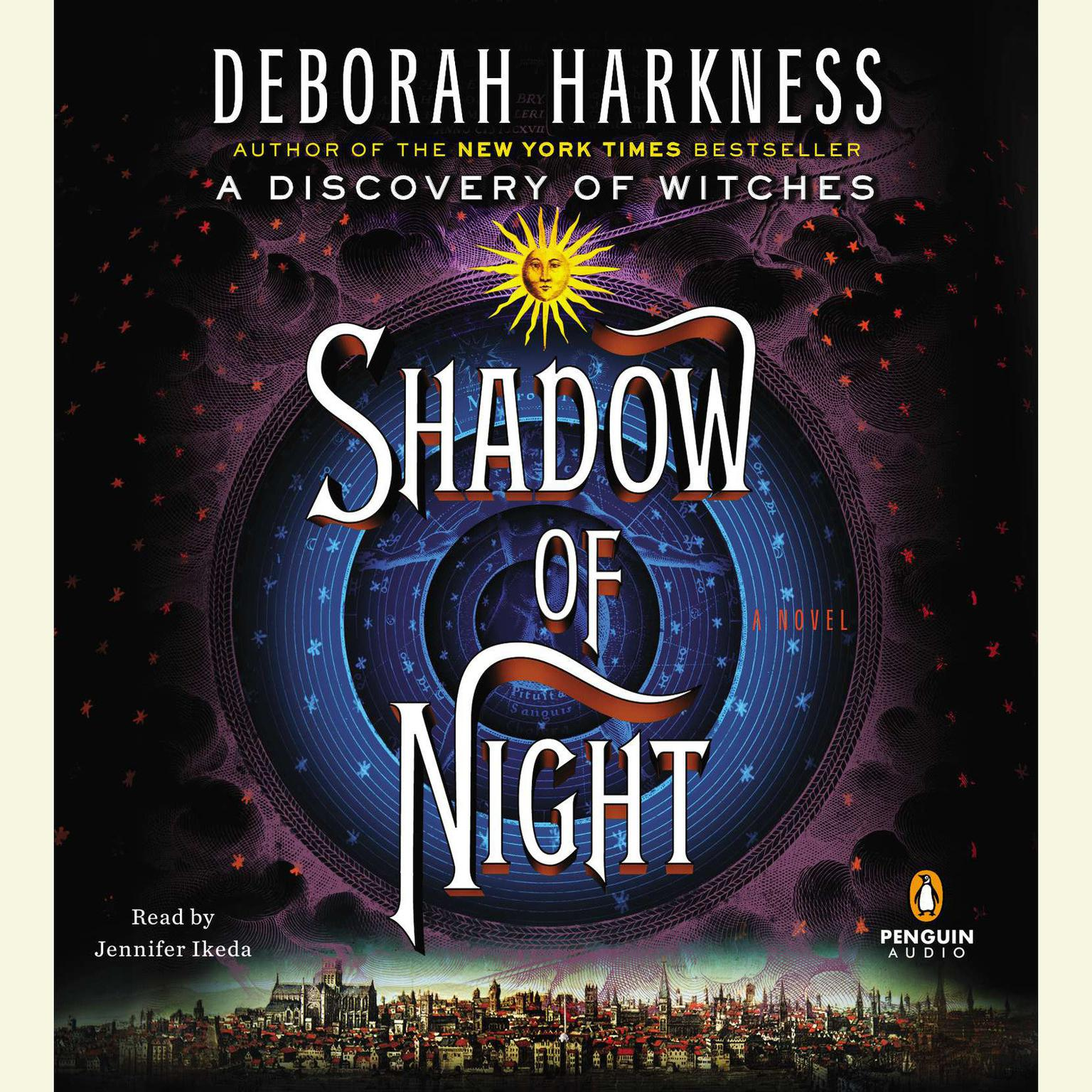Printable Shadow of Night Audiobook Cover Art