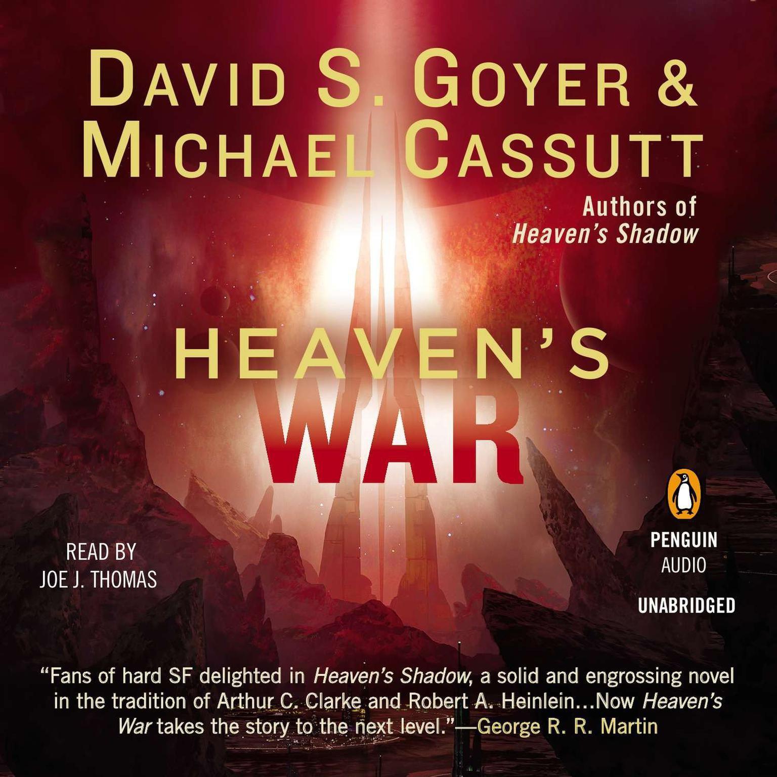Printable Heaven's War Audiobook Cover Art
