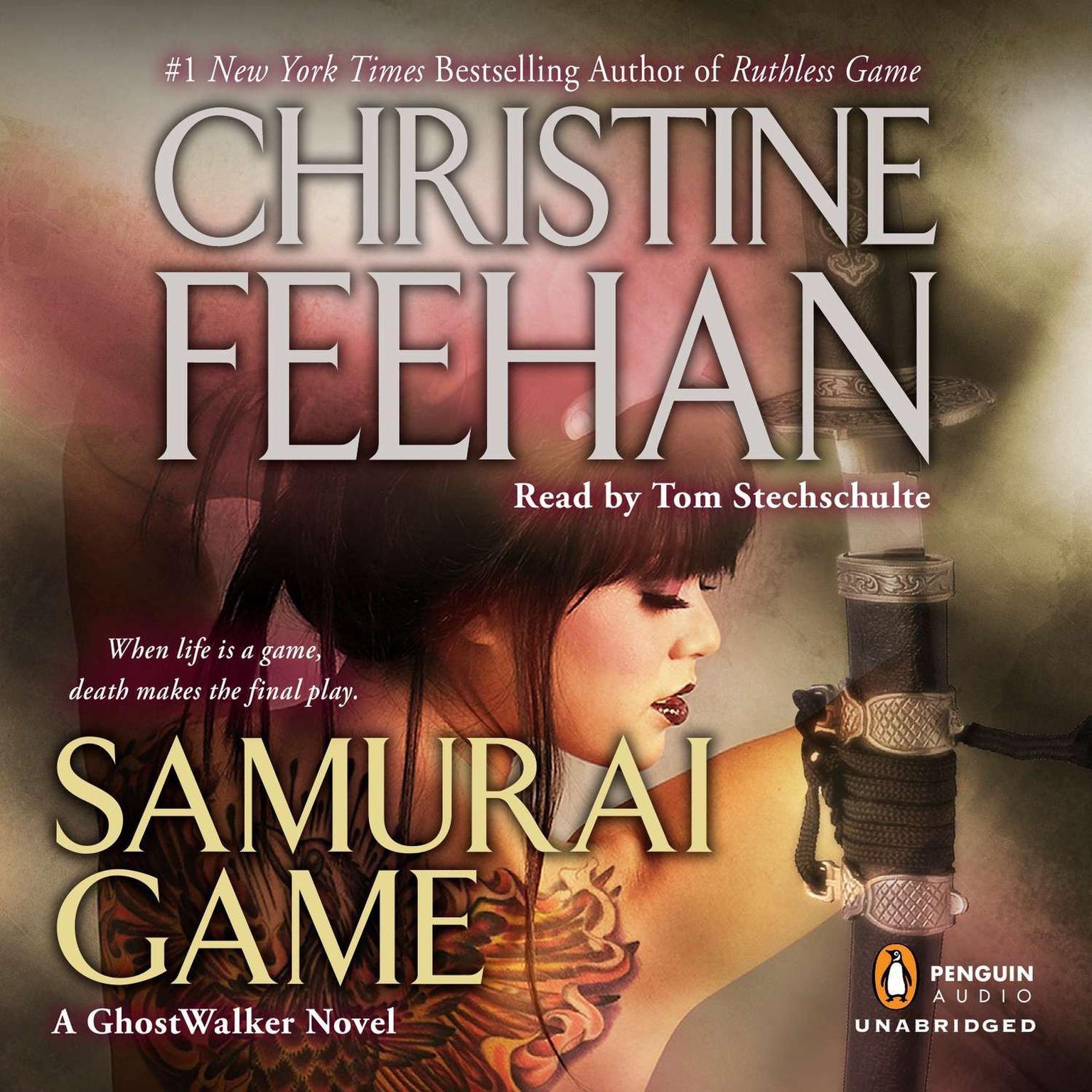 Printable Samurai Game Audiobook Cover Art
