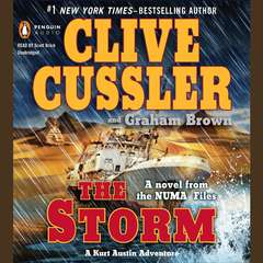 The Storm Audiobook, by Clive Cussler, Graham Brown