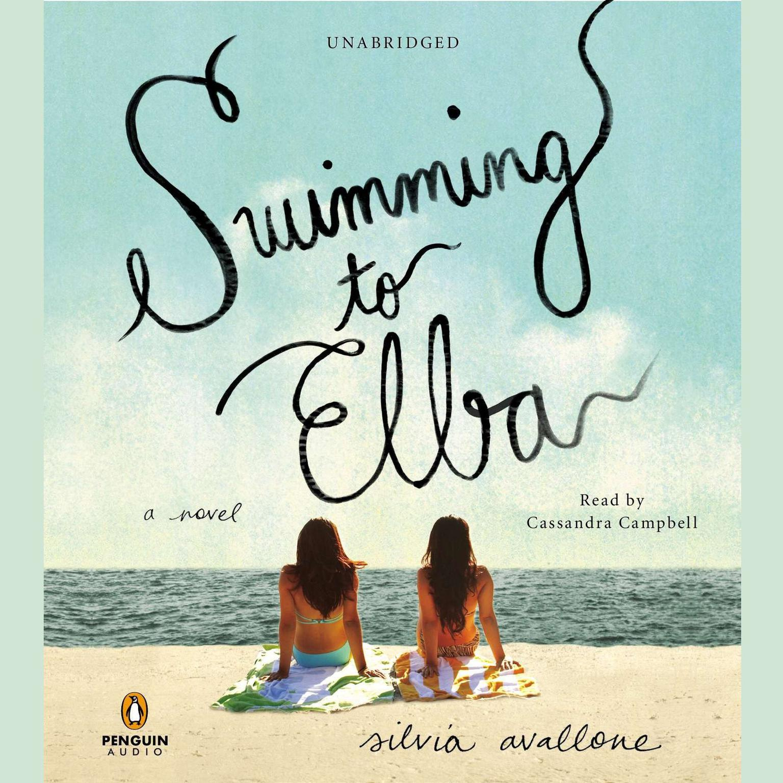 Printable Swimming to Elba: A Novel Audiobook Cover Art