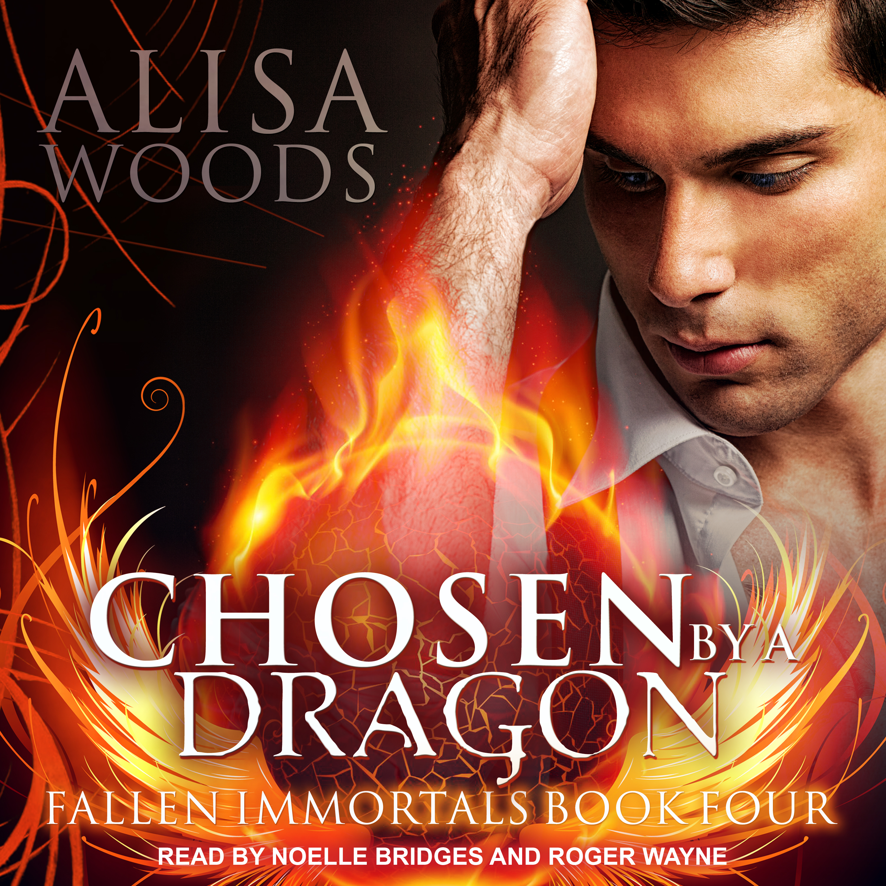 Printable Chosen by a Dragon Audiobook Cover Art