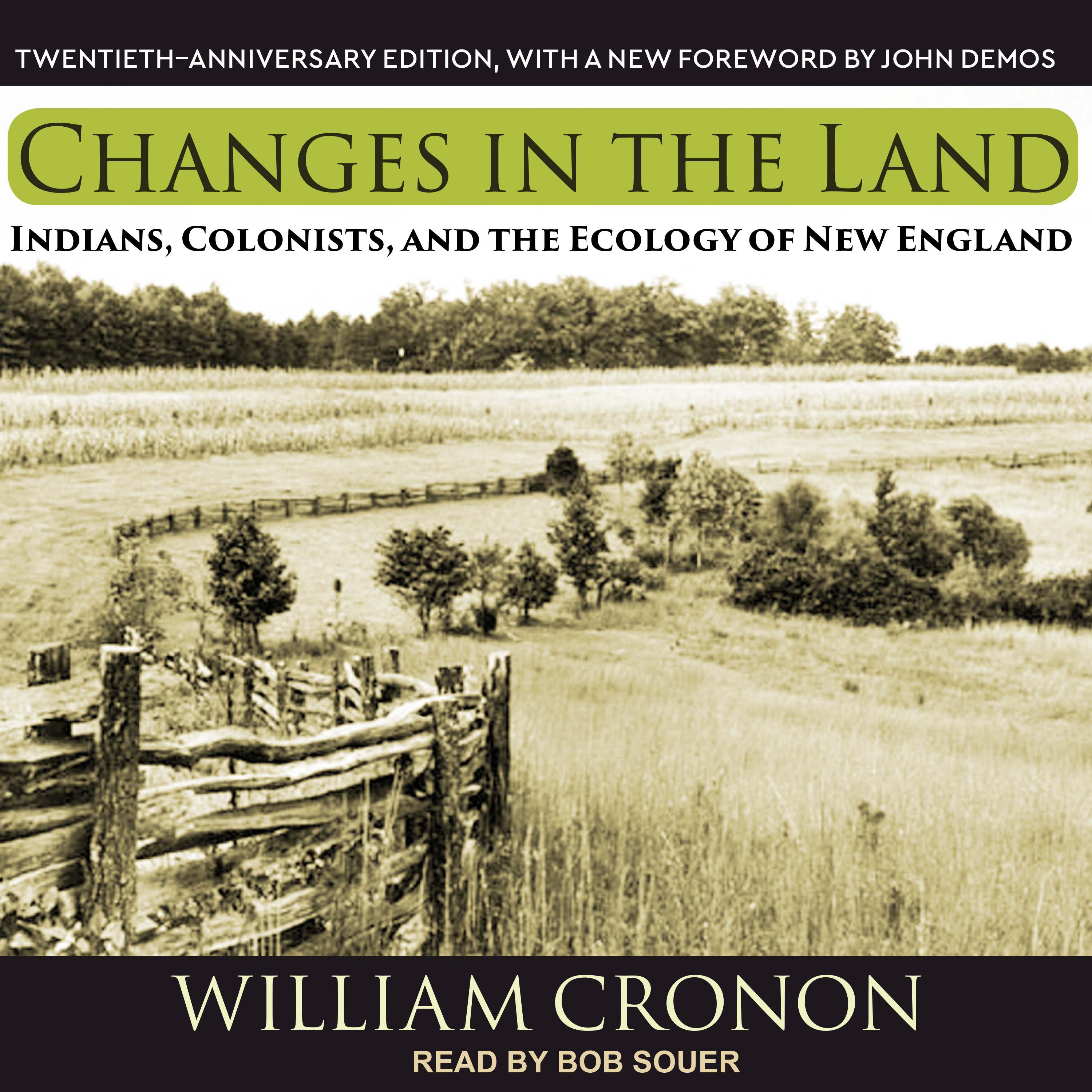 Printable Changes in the Land:  Indians, Colonists, and the Ecology of New England Audiobook Cover Art