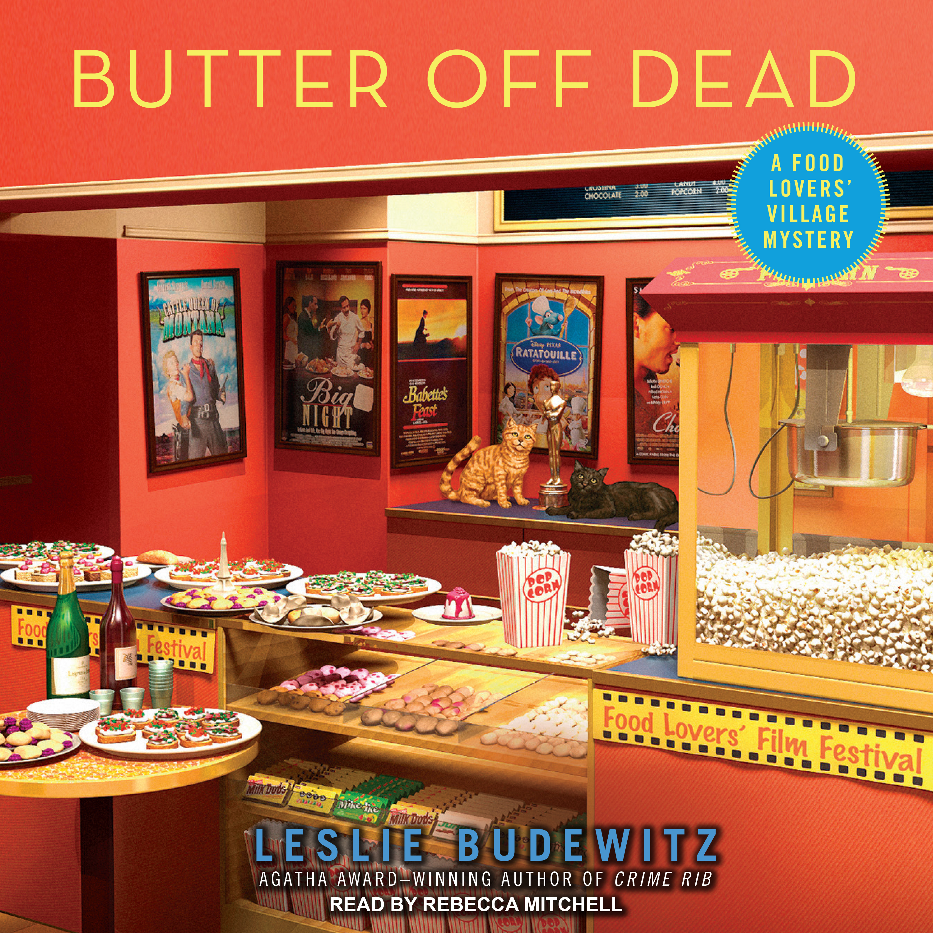Printable Butter Off Dead Audiobook Cover Art